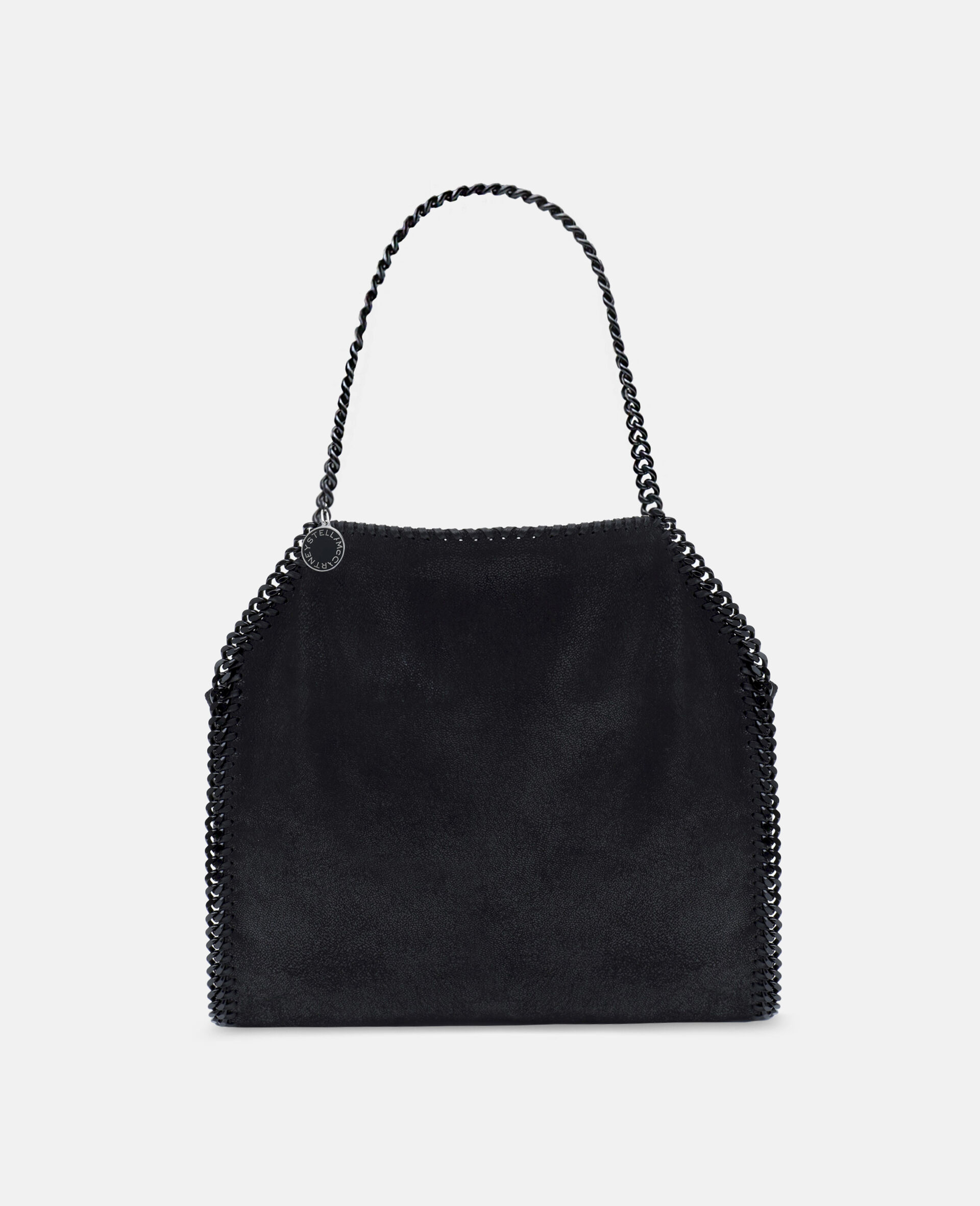 Falabella Tote Bag-Black-large
