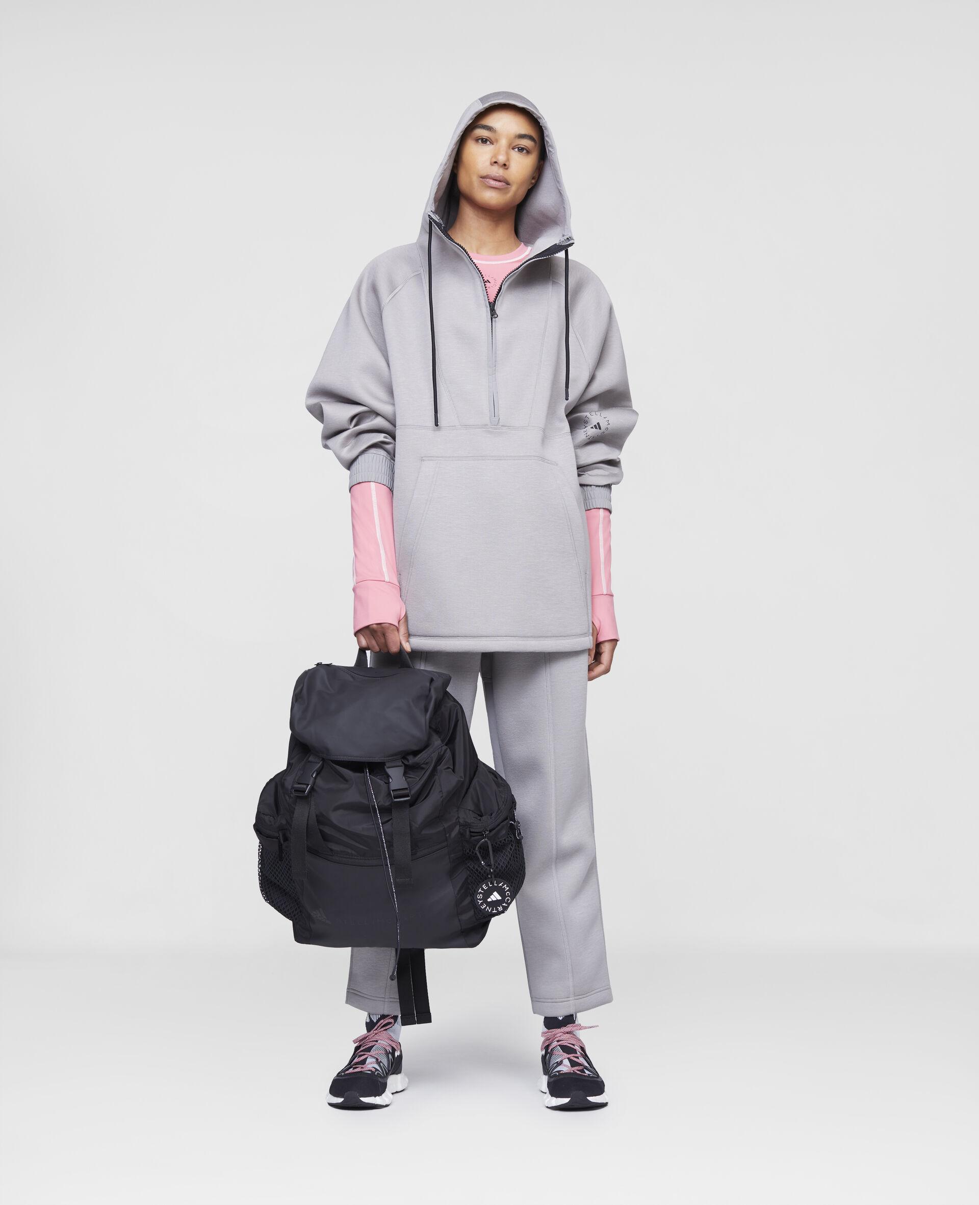 Grey Training Hoodie-Grey-large image number 1