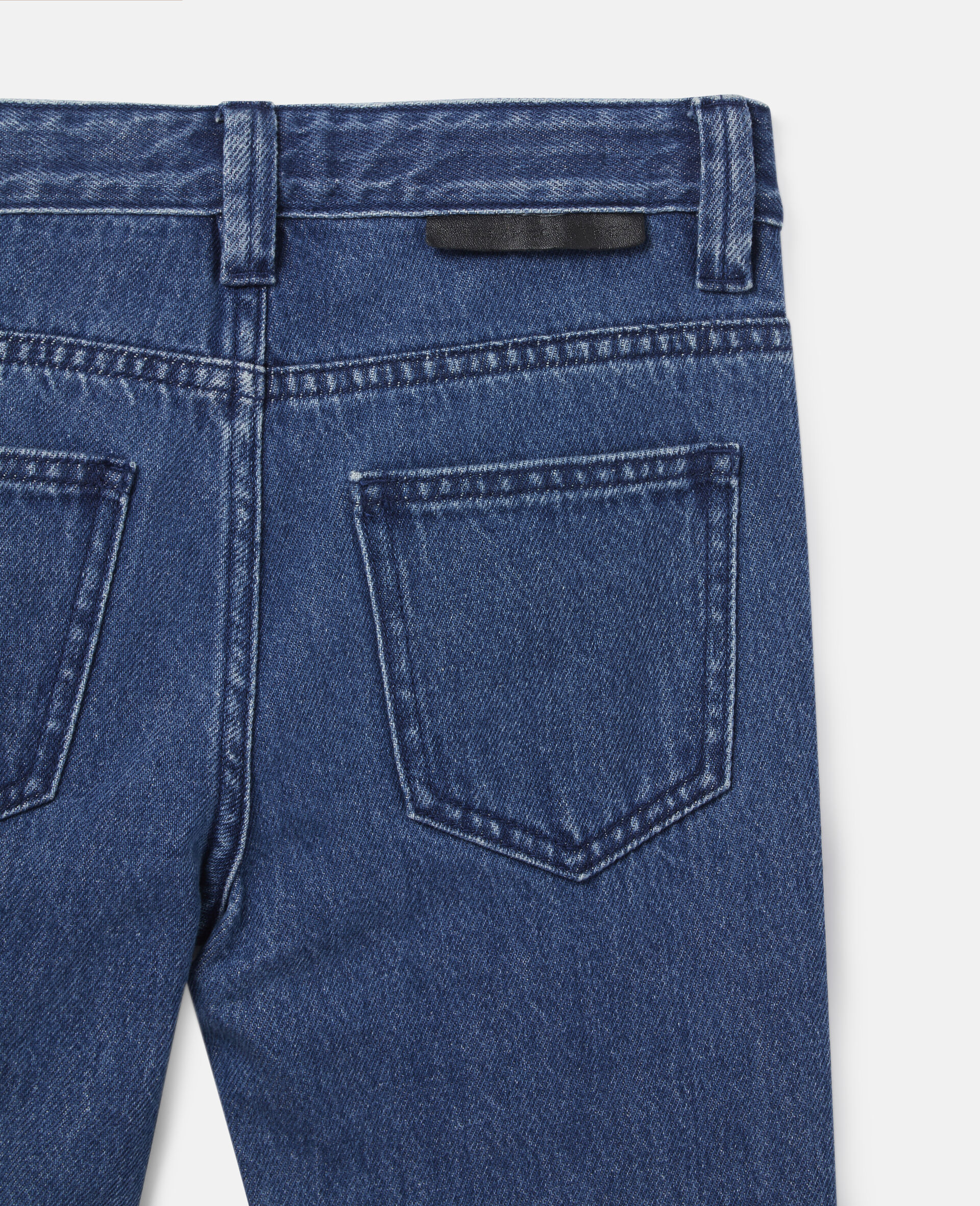 Pantalon en denim-Bleu-large image number 1