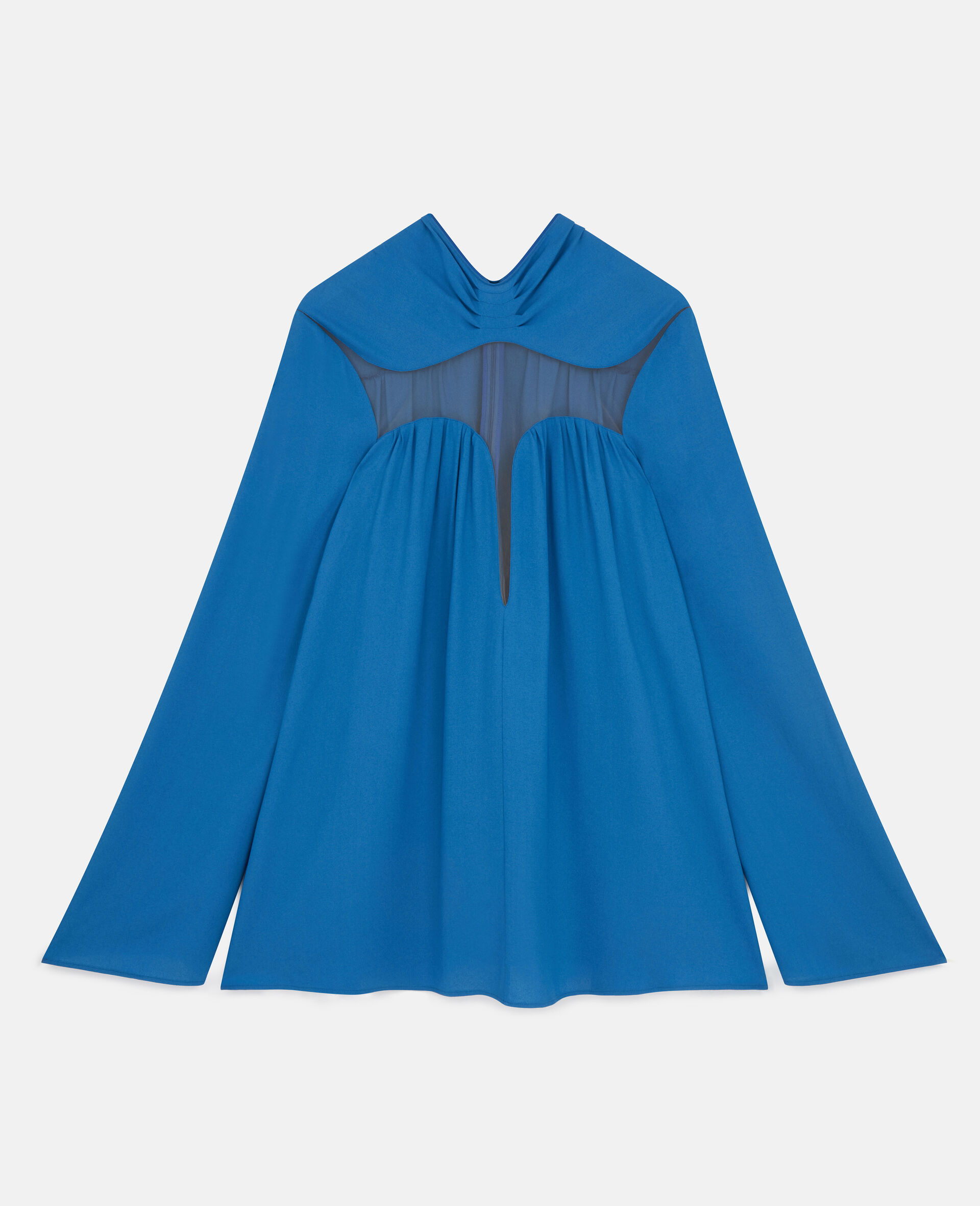 Cordelia Mini Dress-Blue-large image number 0
