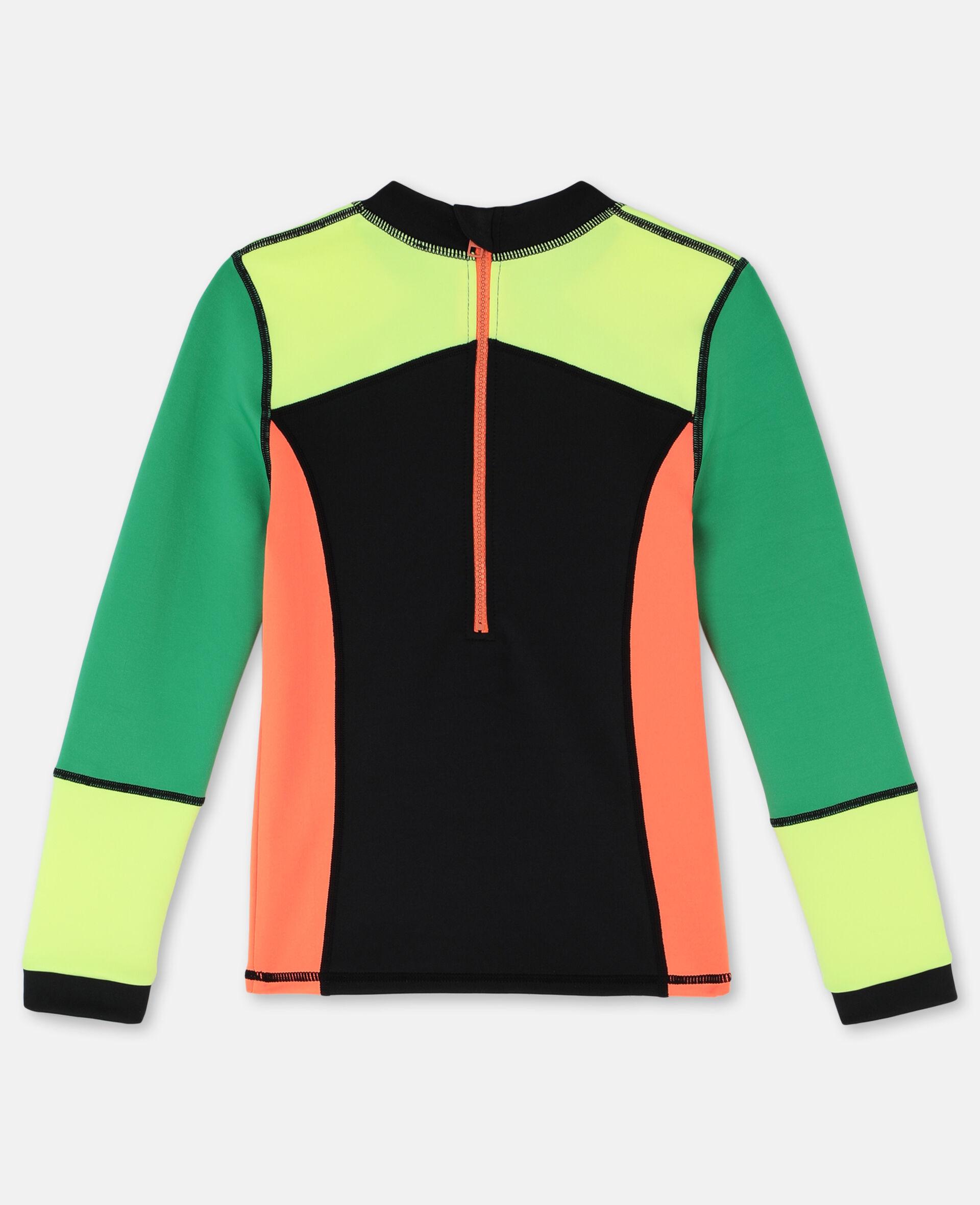 Multicolour Scuba Swim T-shirt -Multicolour-large image number 4