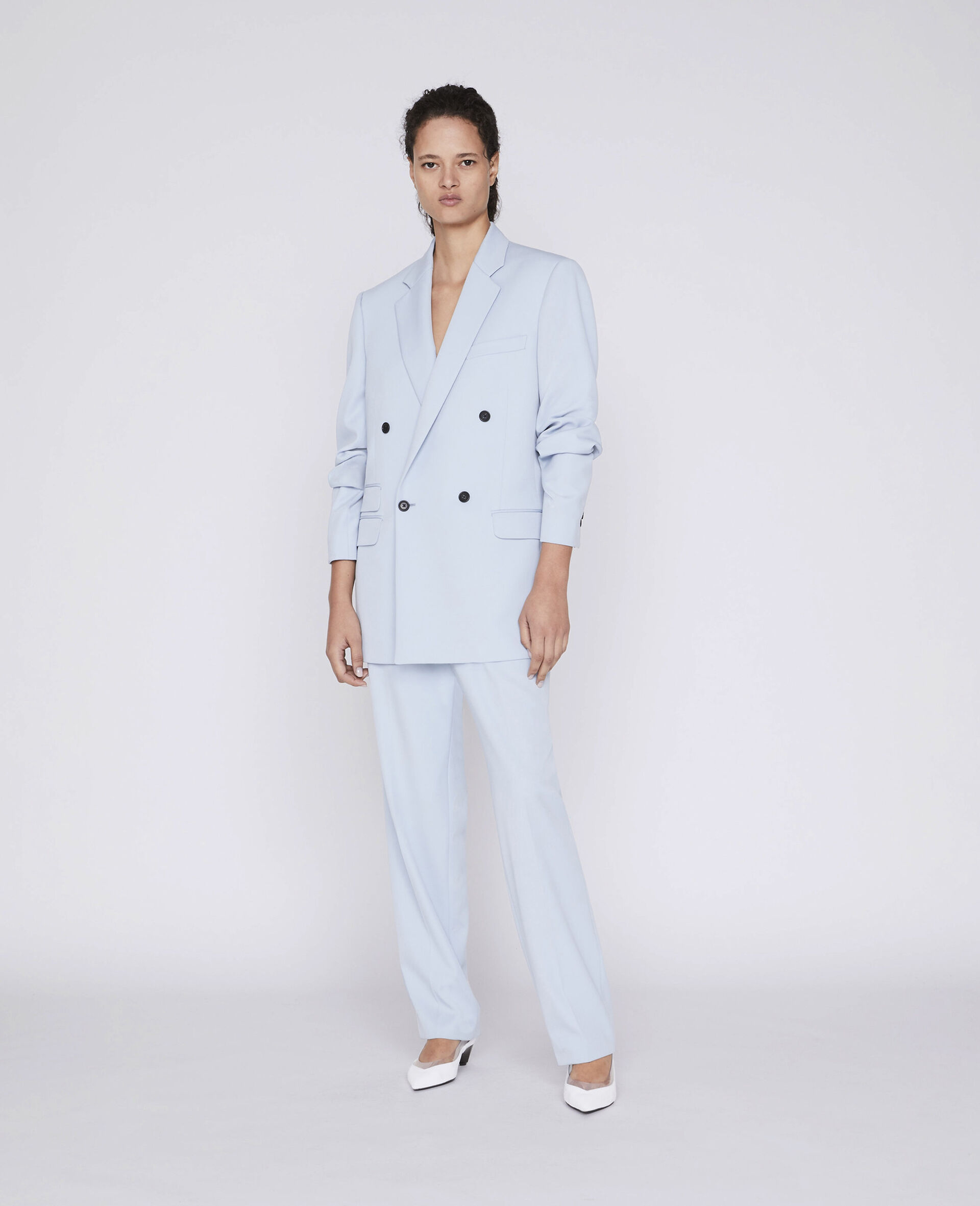 Julien Tailored Trousers-Blue-large image number 3