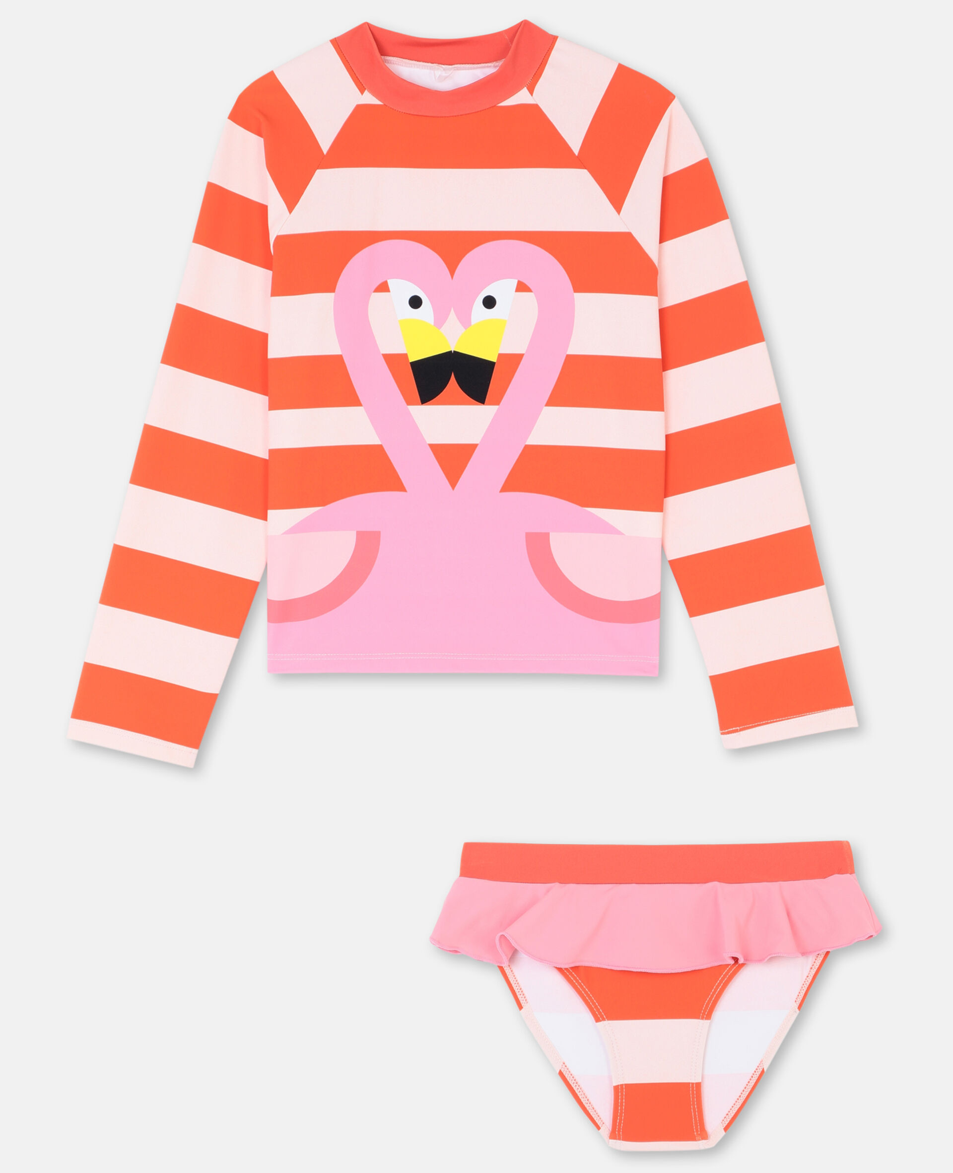 Flamingo-Badeset -Rose-large image number 0