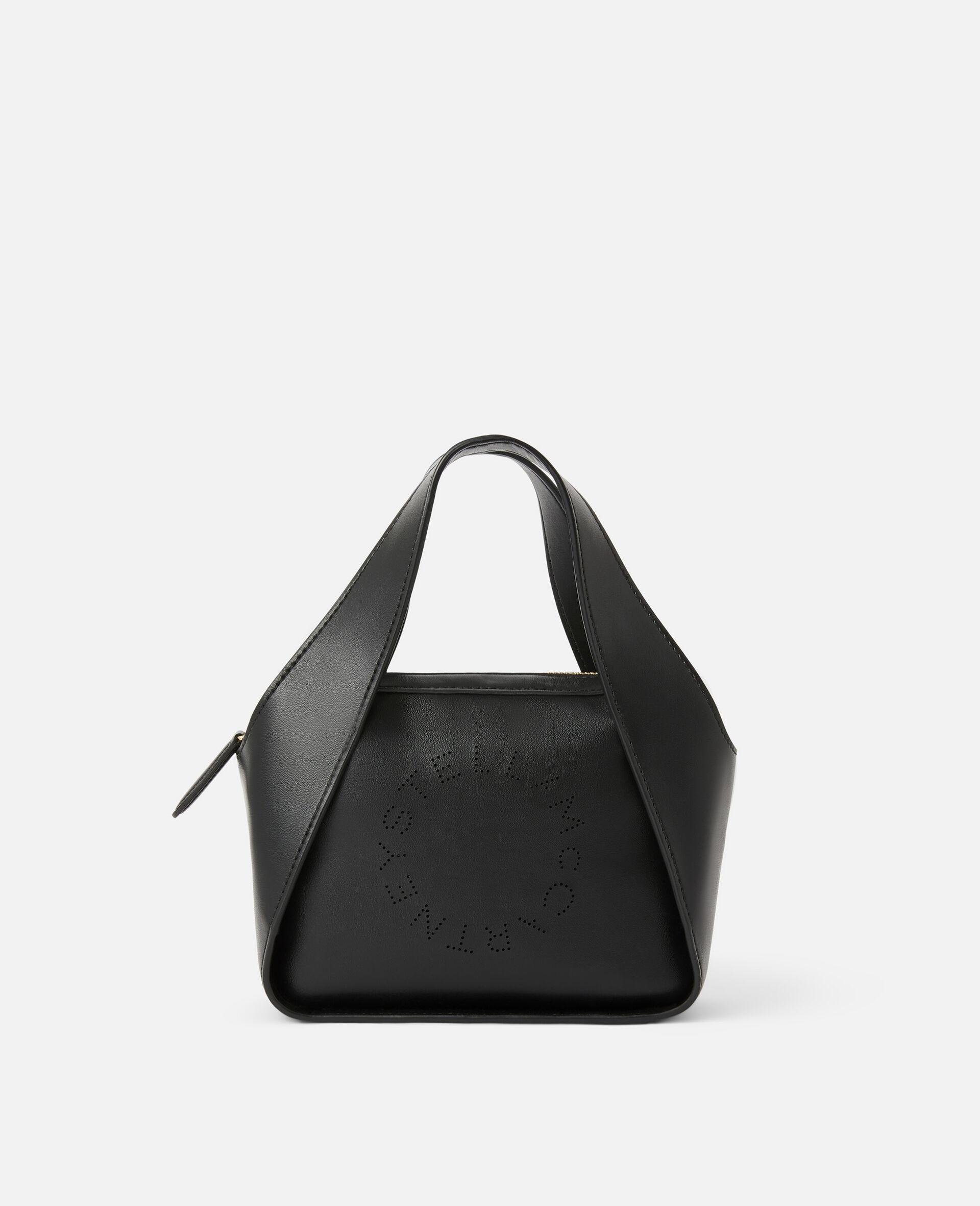 Mini-Crossbody Bag mit Stella-Logo -Schwarz-large image number 0