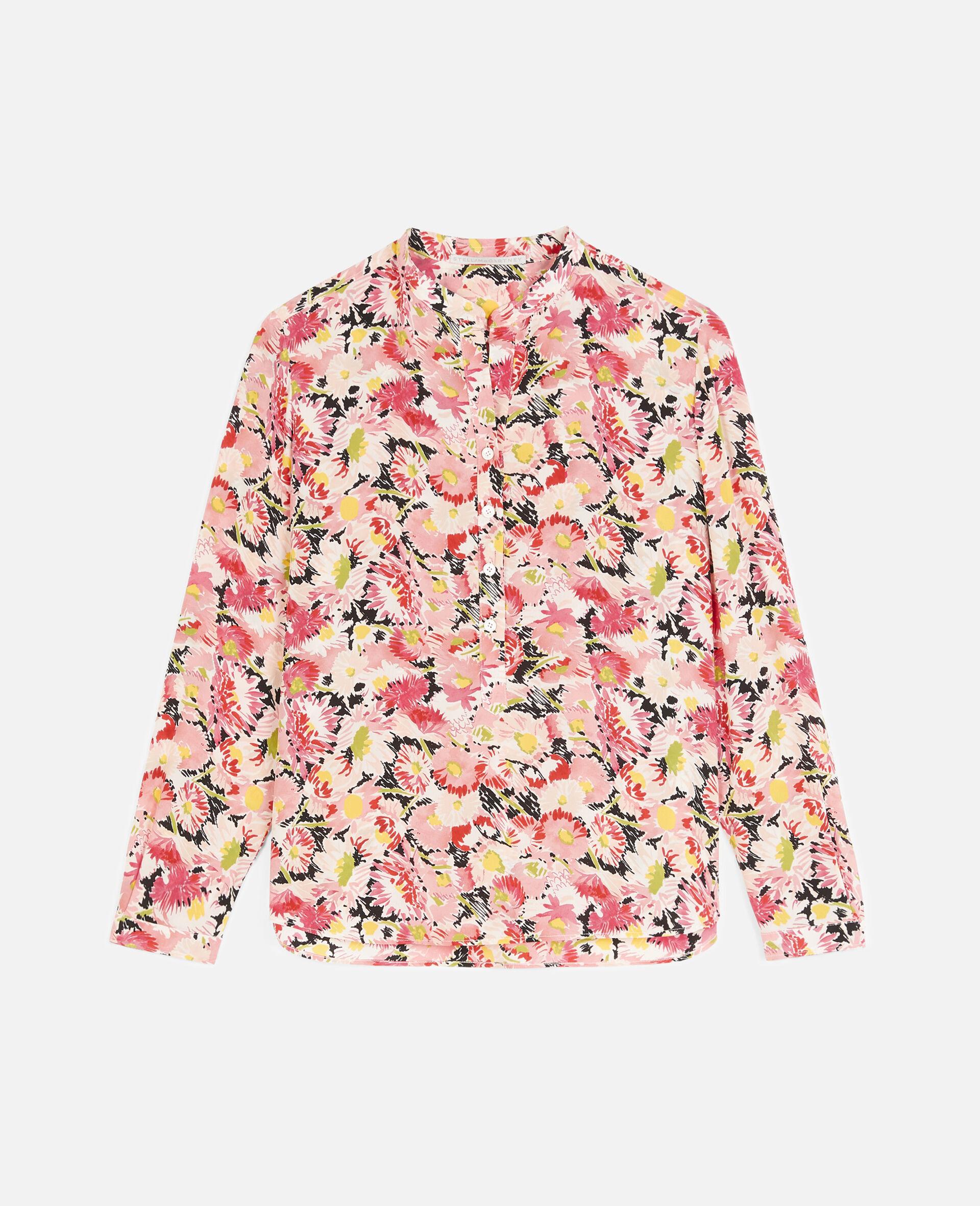 Eva Silk Shirt-Multicoloured-large image number 0