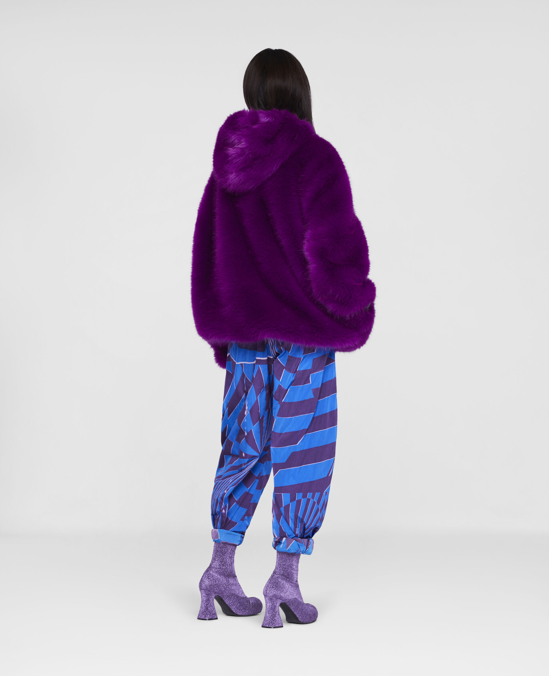 FFF Coat -Purple-large image number 2