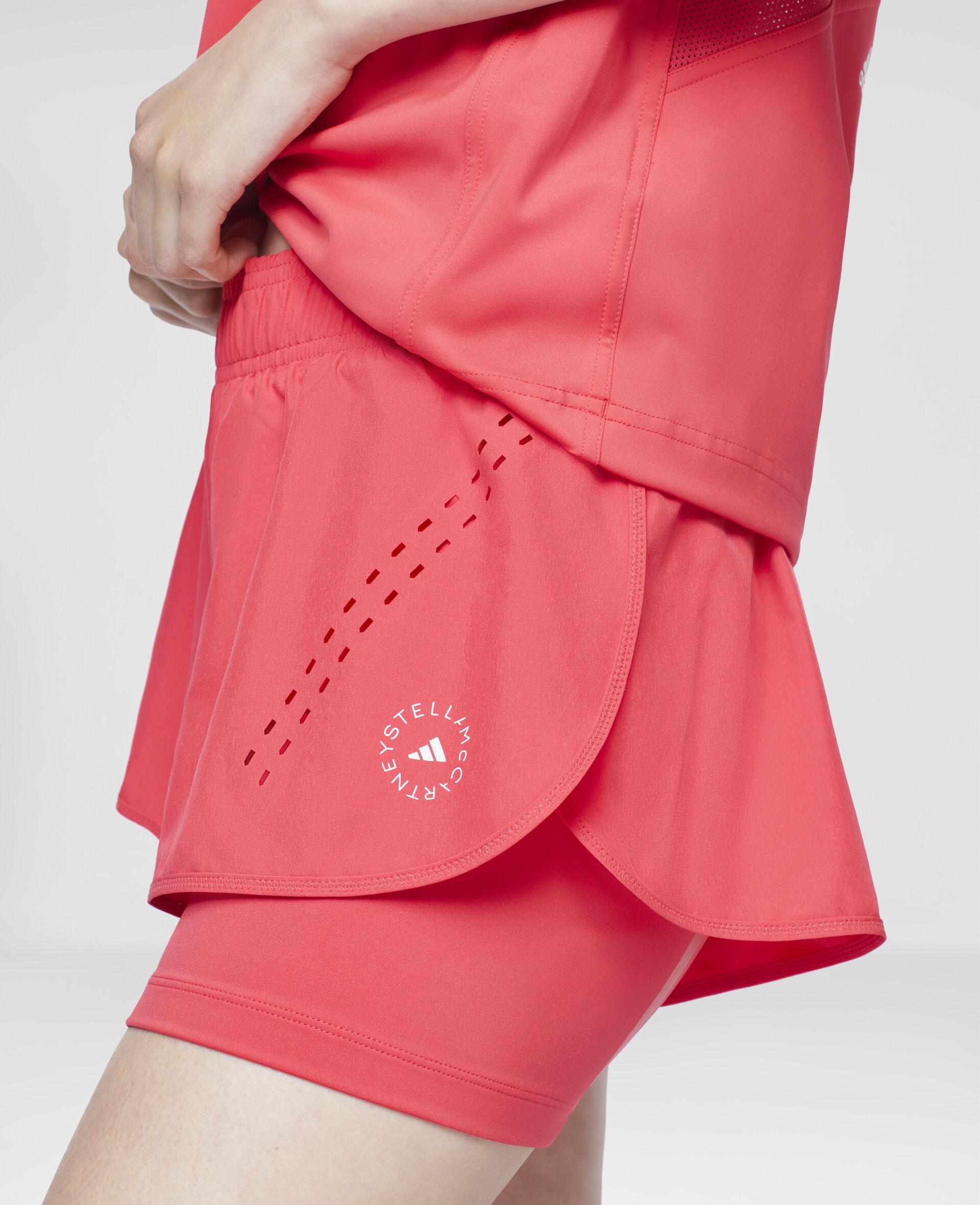 Pink TruePurpose Training Shorts-Pink-large image number 3