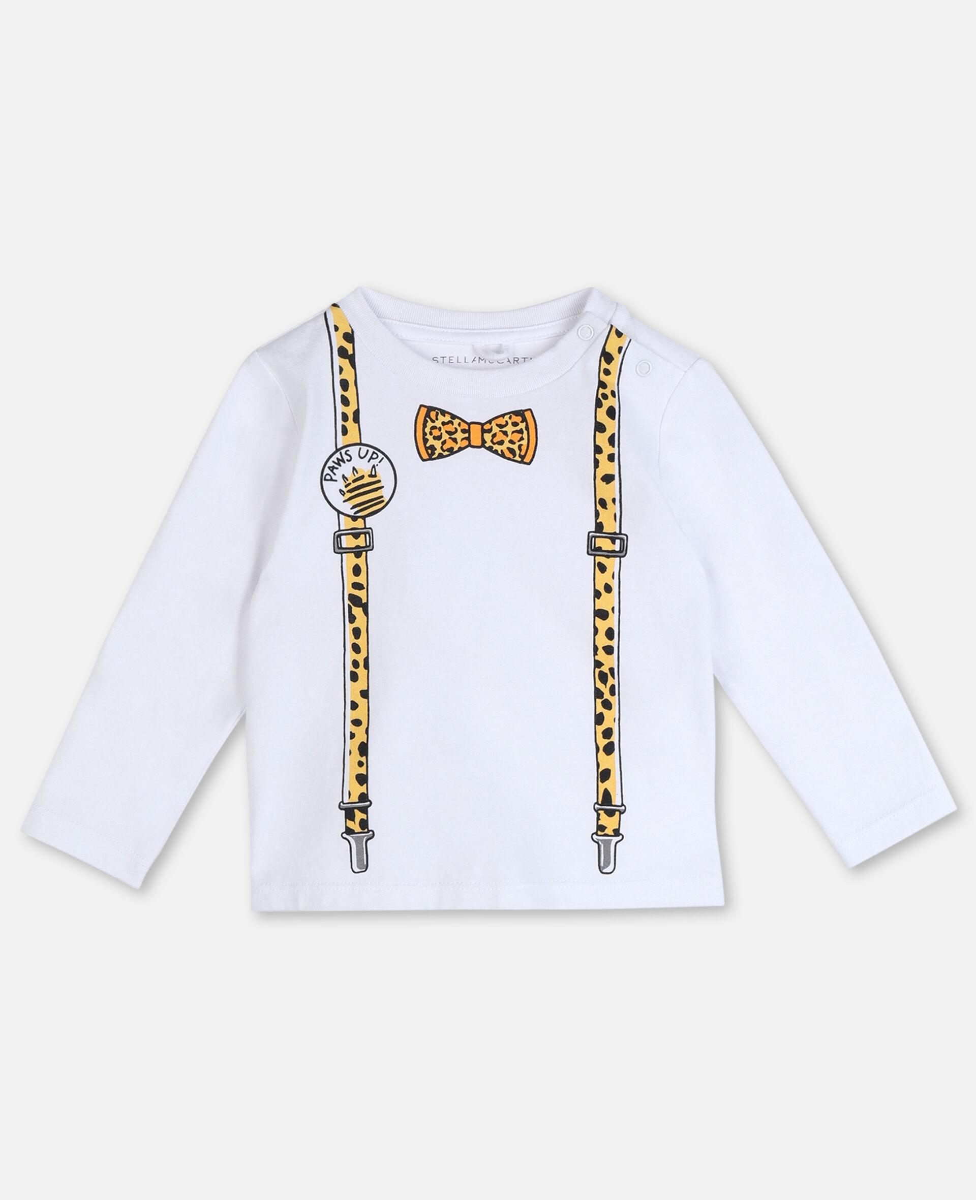 Braces 棉质 T 恤 -白色-large image number 0