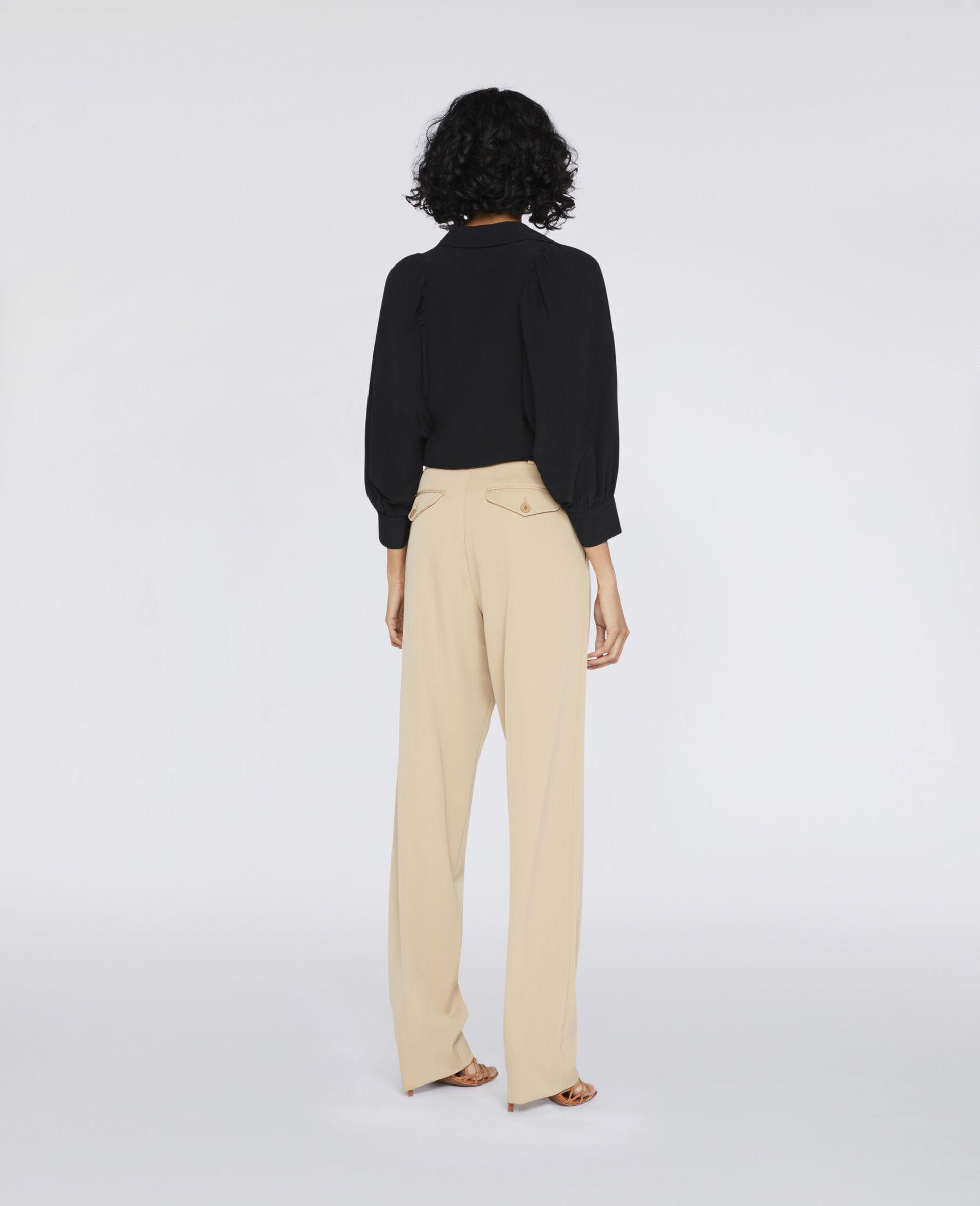 Reese Silk Shirt -Black-large image number 2