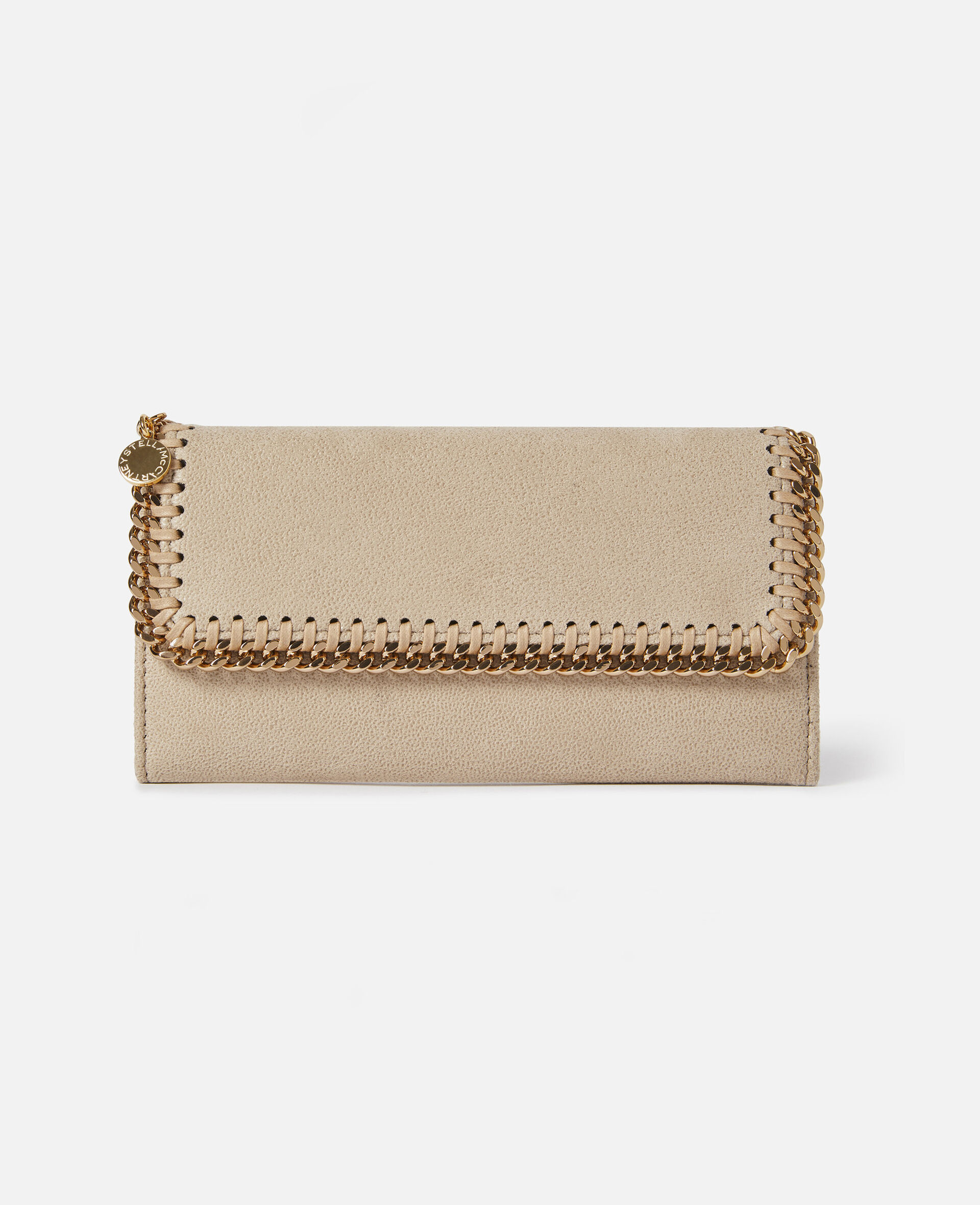 Falabella Continental Wallet-Beige-large