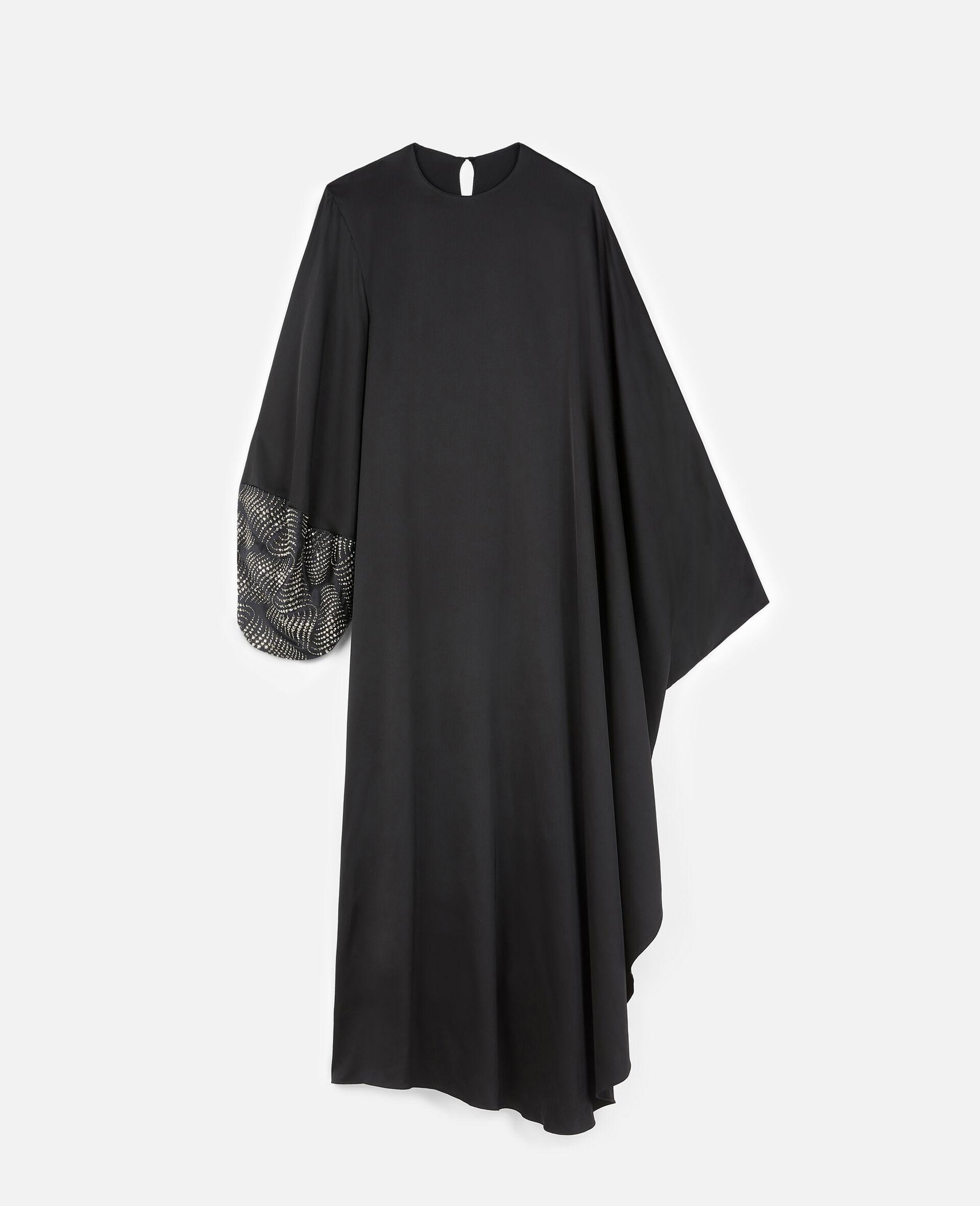 Robe Aliyah avec détail thermocollé-Noir-large image number 0