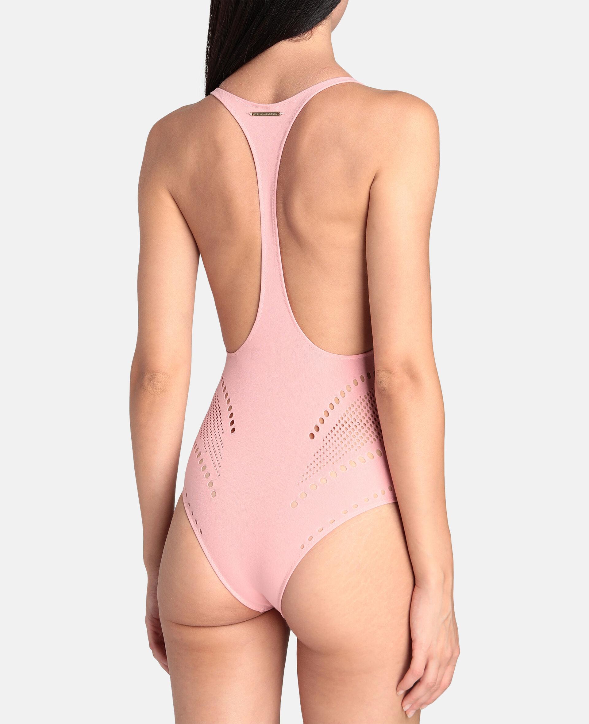 Stellawear Graphic Bodysuit-Pink-large image number 2