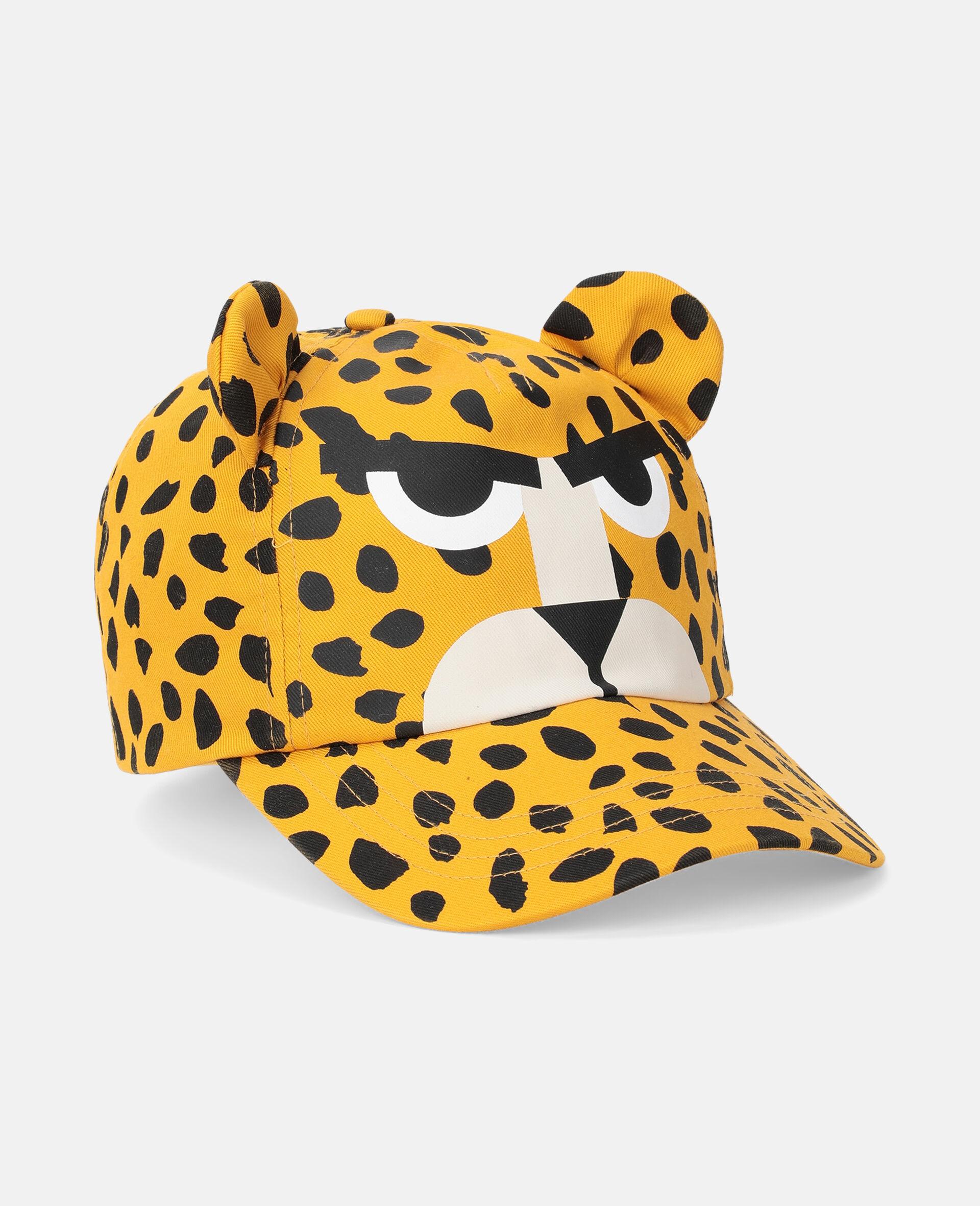 Cheetah Dots Canvas Hat -Multicolour-large image number 1