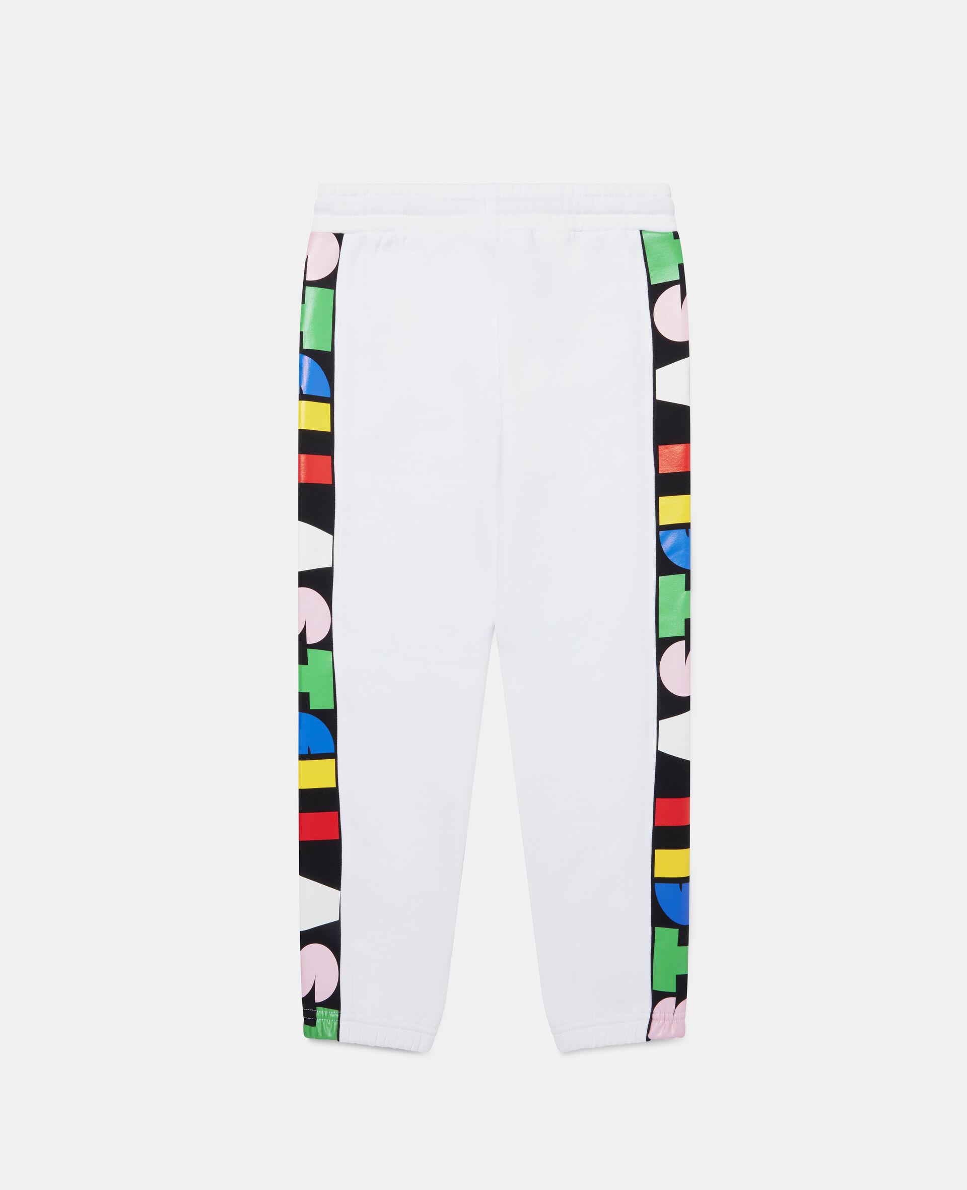Pantalon de jogging en polaire Stella-Blanc-large image number 3