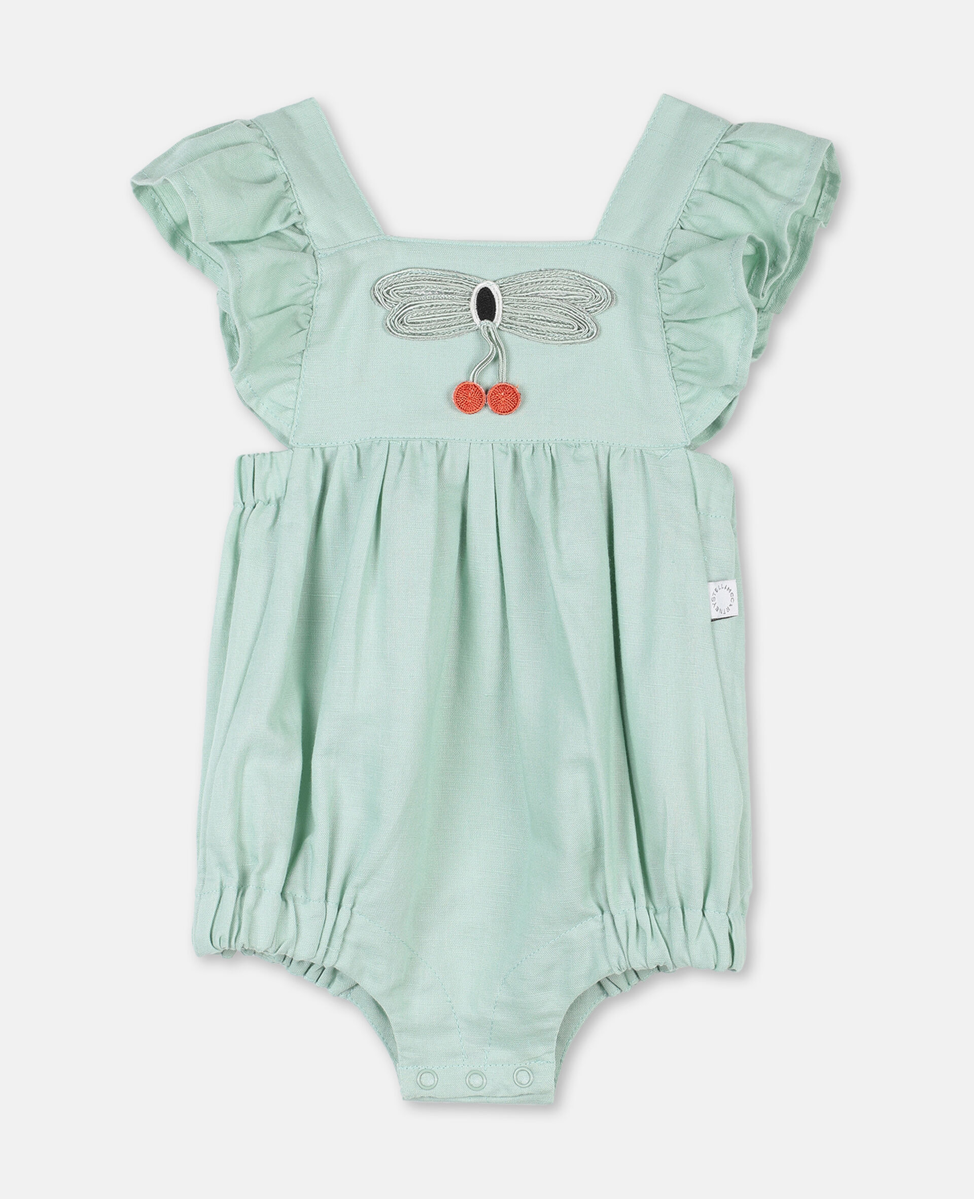 Butterfly Lace Jumpsuit-Green-large image number 0