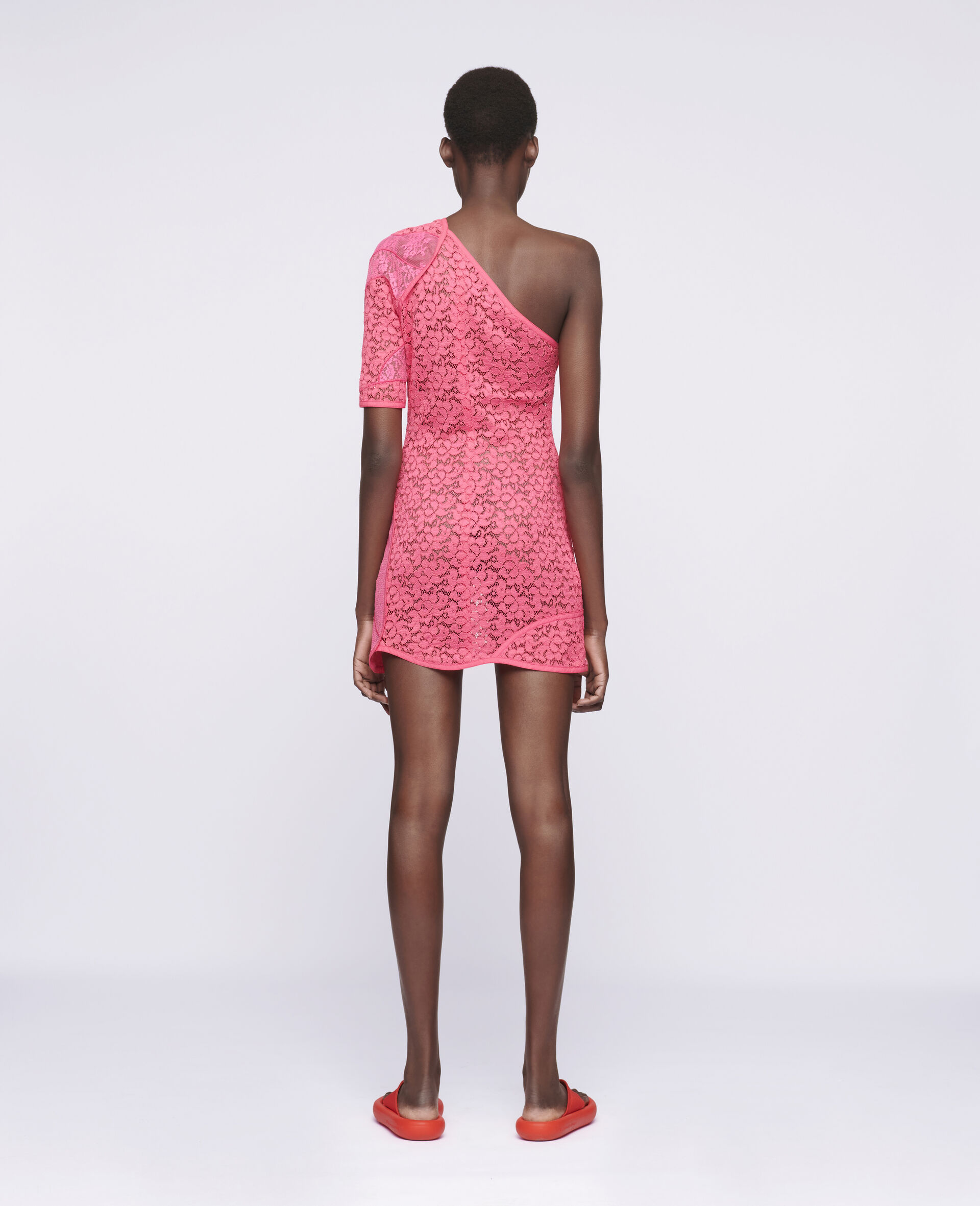 Daniela Mini Dress-Pink-large image number 2