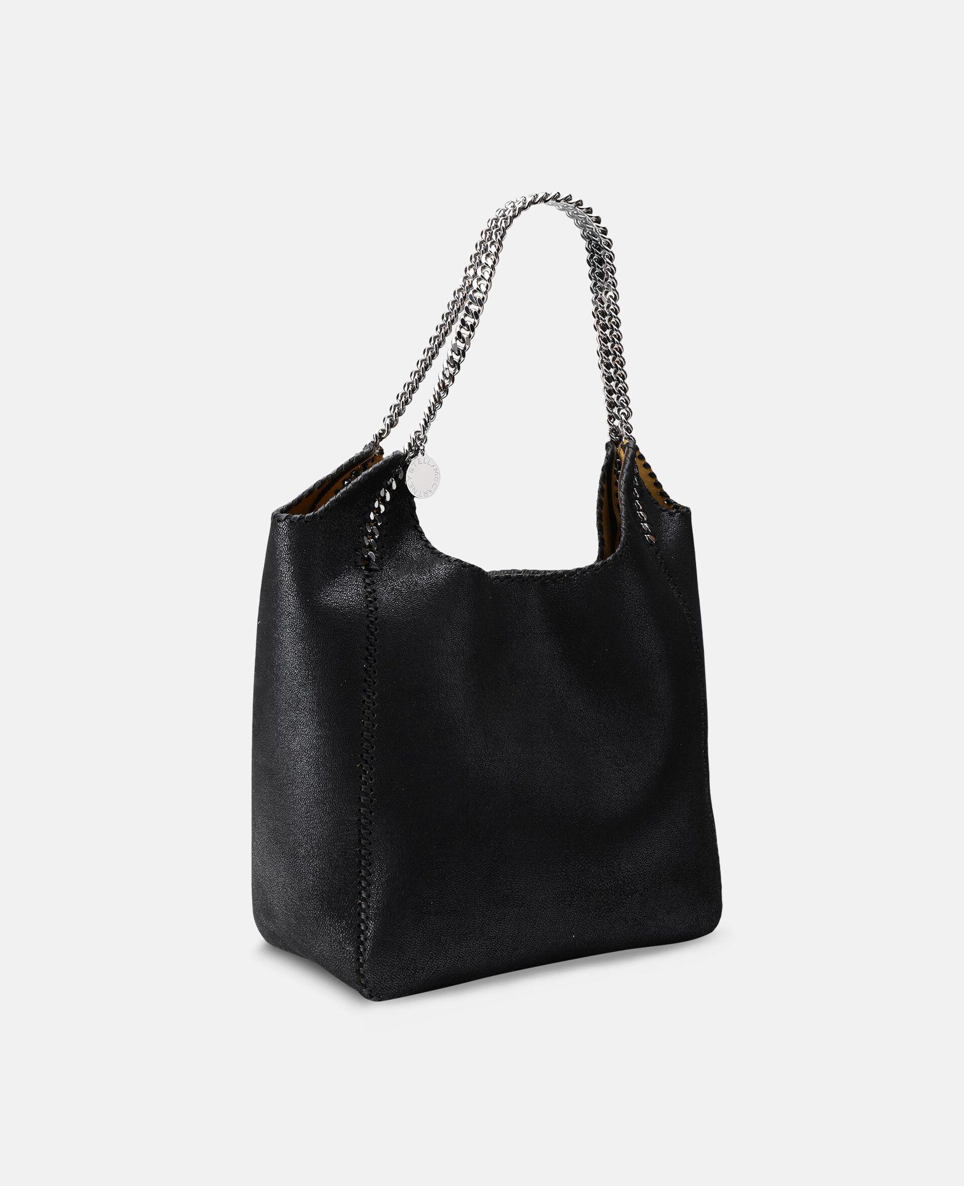 Large Falabella Tote Bag-Black-large image number 1