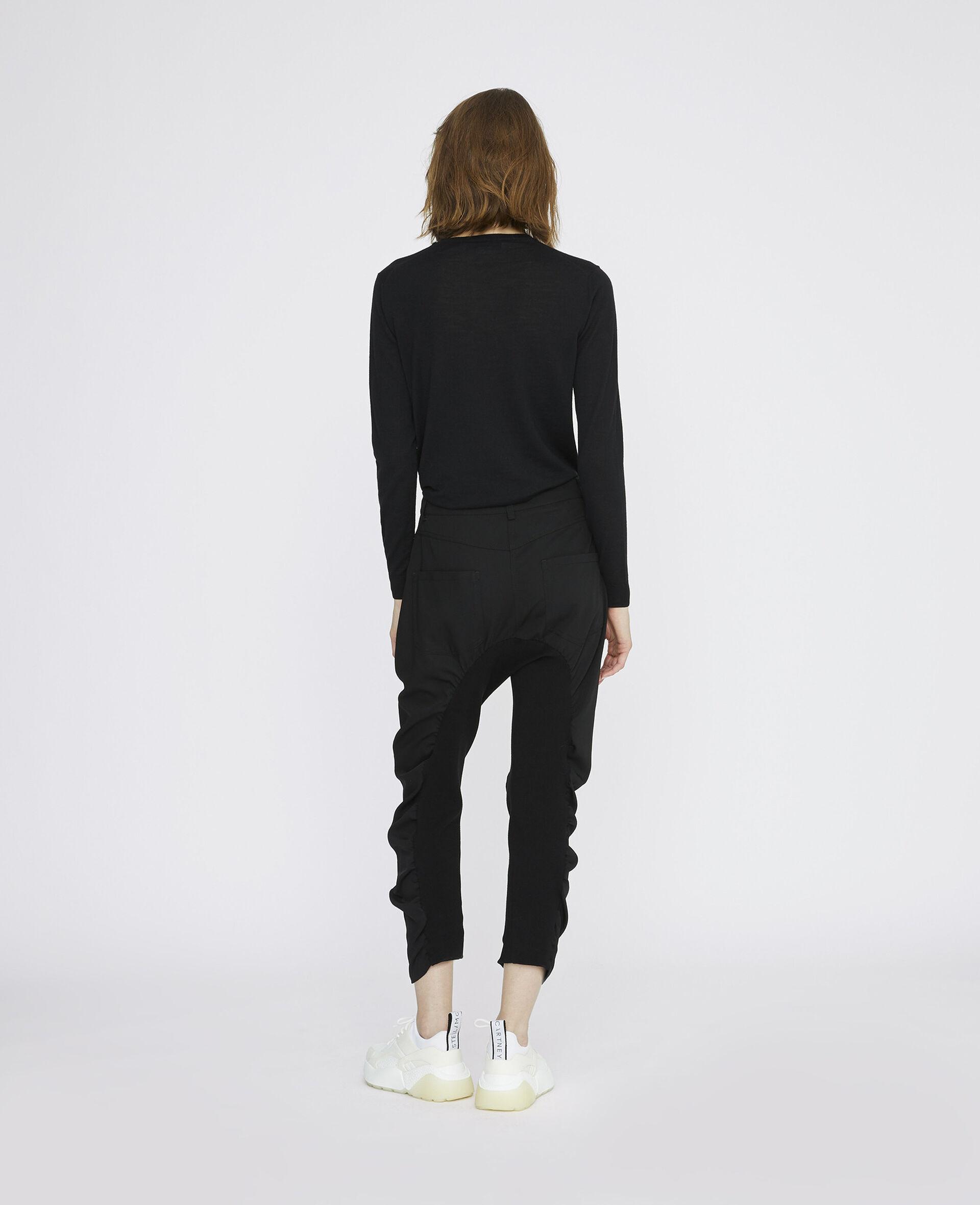 Pantaloni Tina Neri-Nero-large image number 2