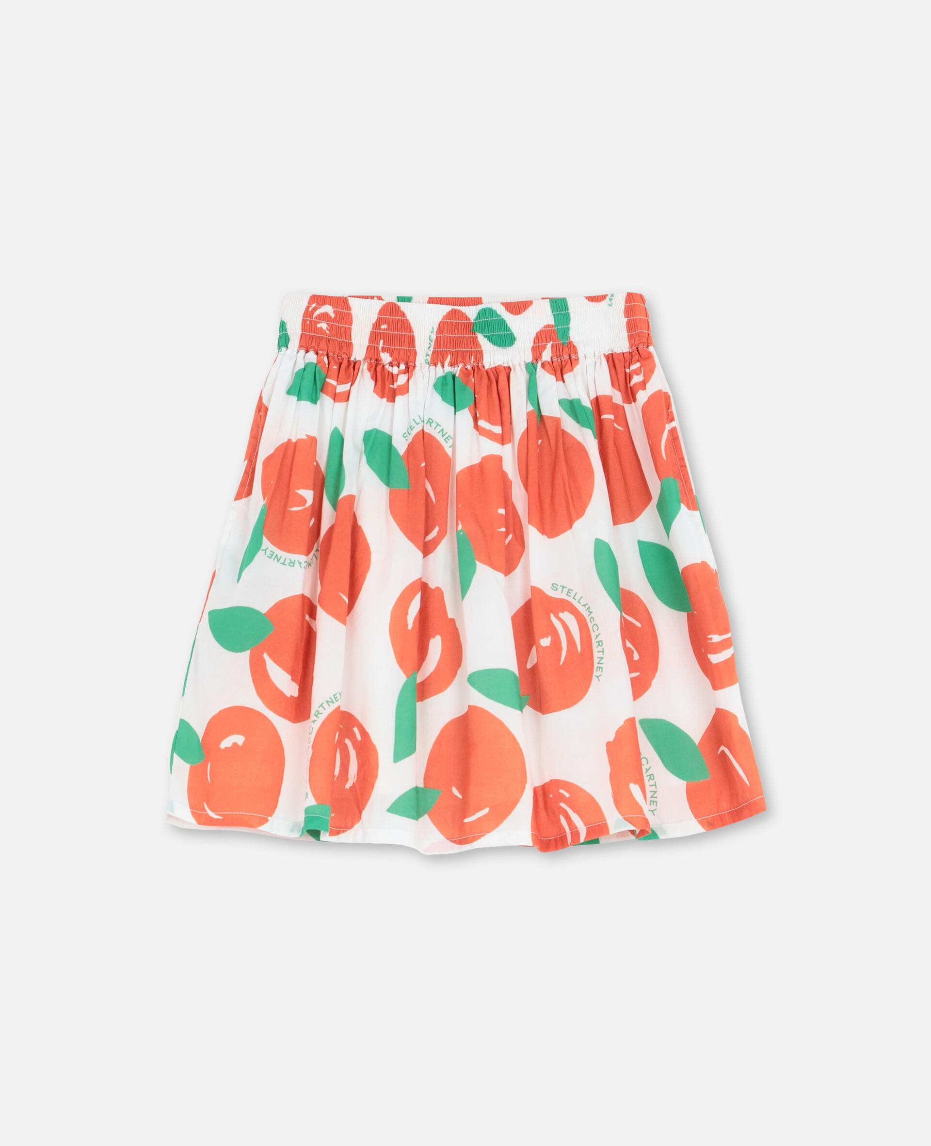 Clementine棉质半身裙 -红色-large image number 0