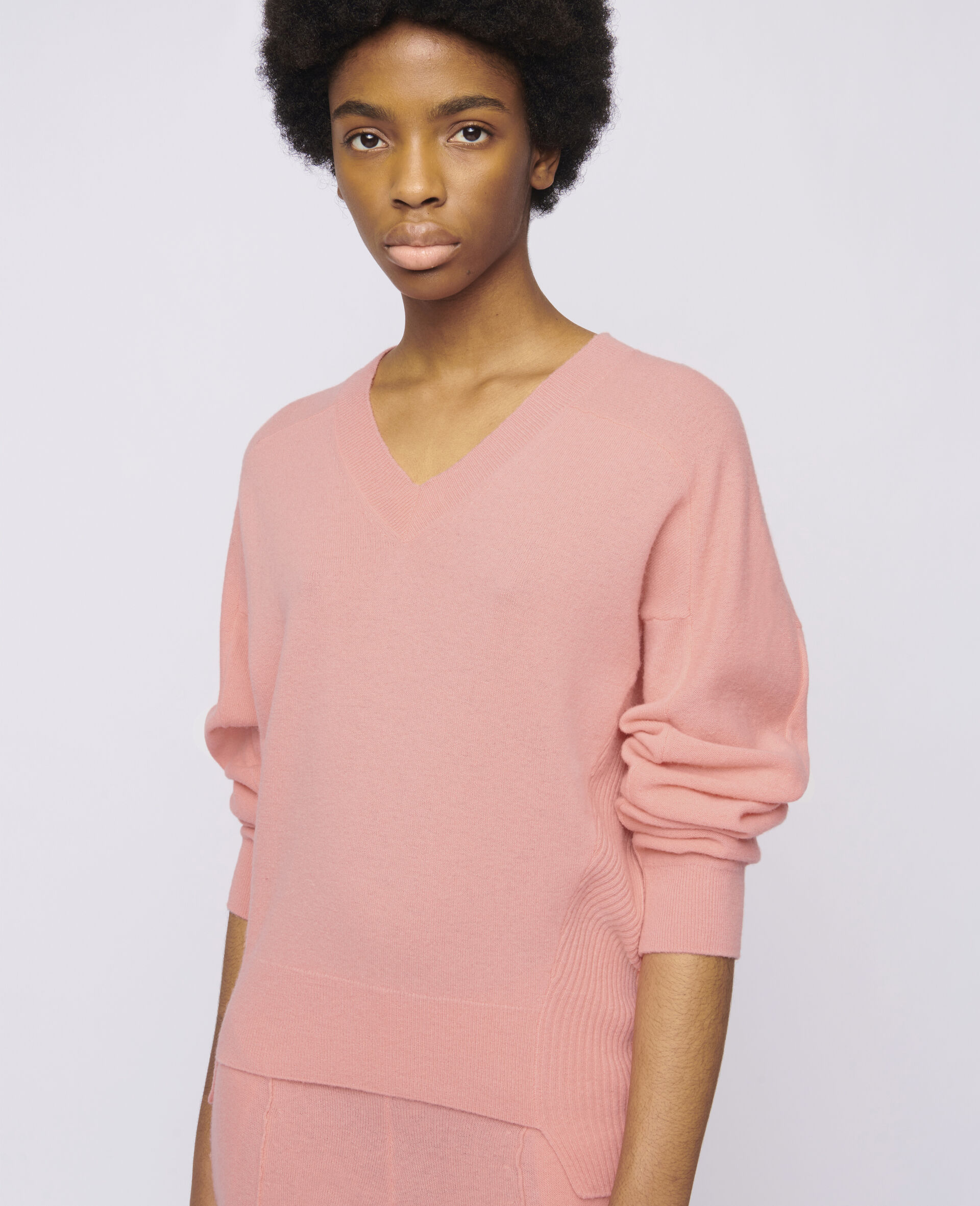 Cropped Sweater-Orange-large image number 3