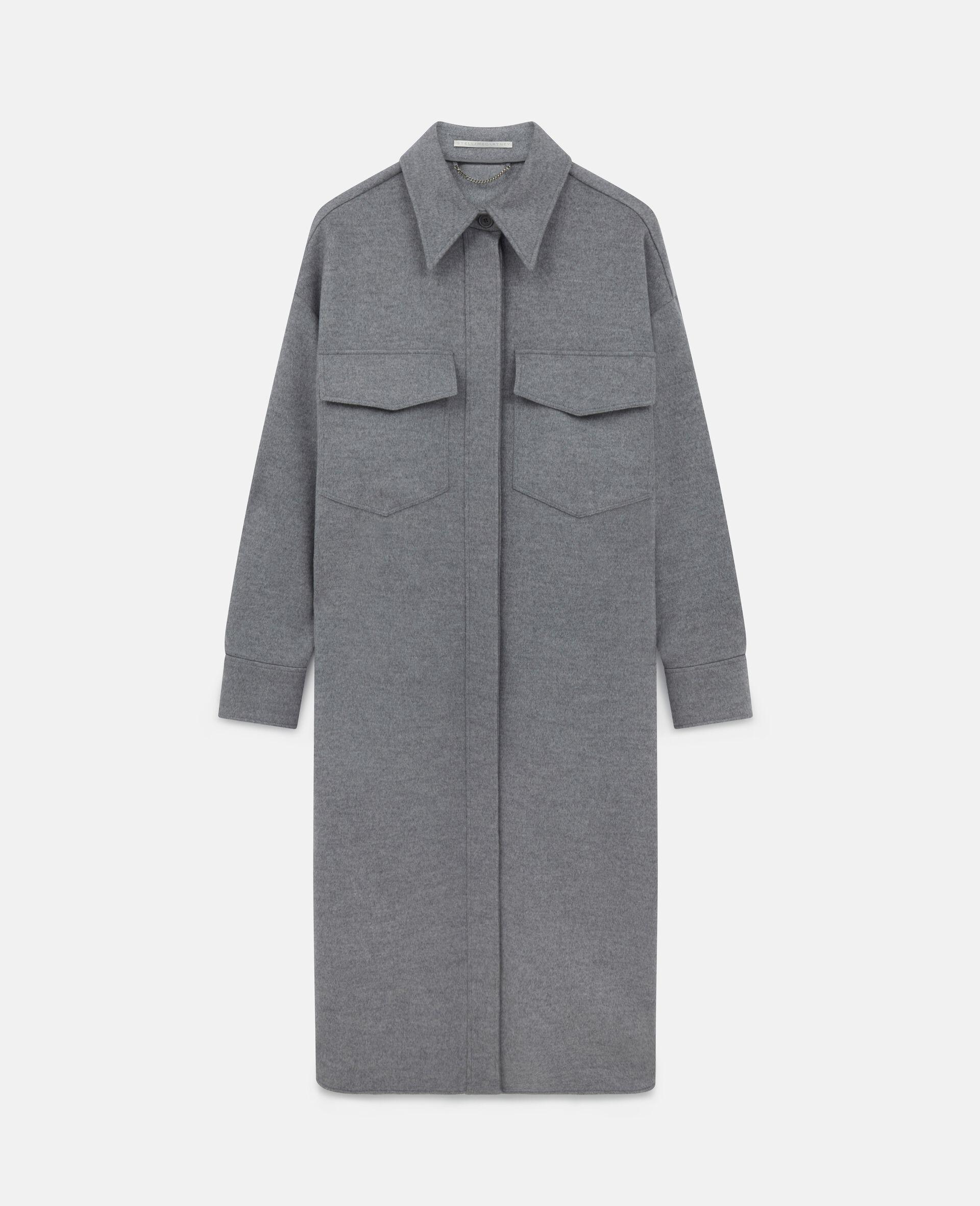 Linda Wool Coat-Grey-large image number 0