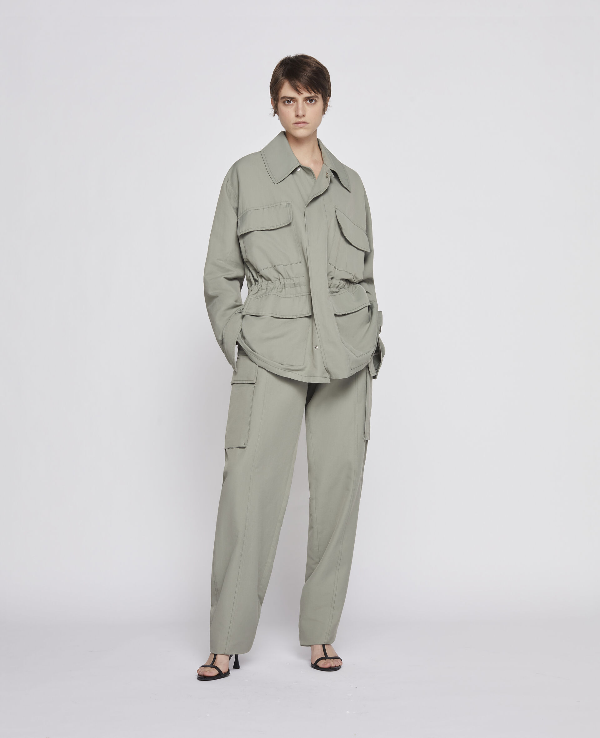 23 OBS Blouson -Green-large image number 3