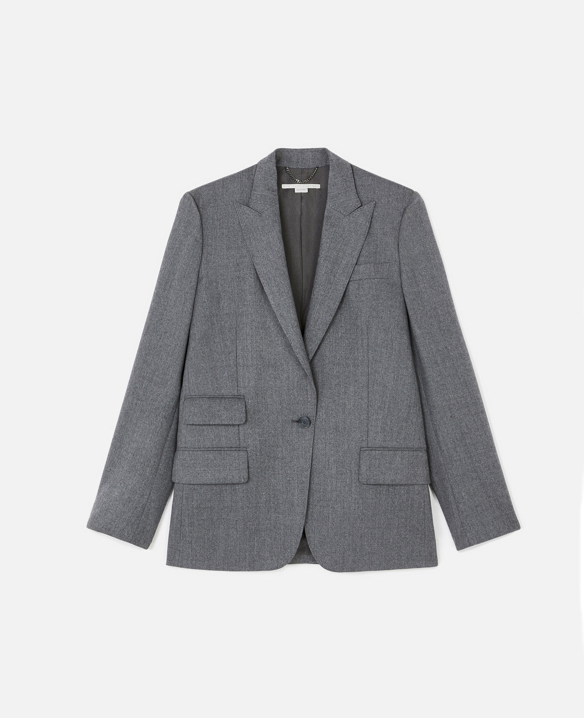 Tailored Bell Jacket -Grey-large image number 0