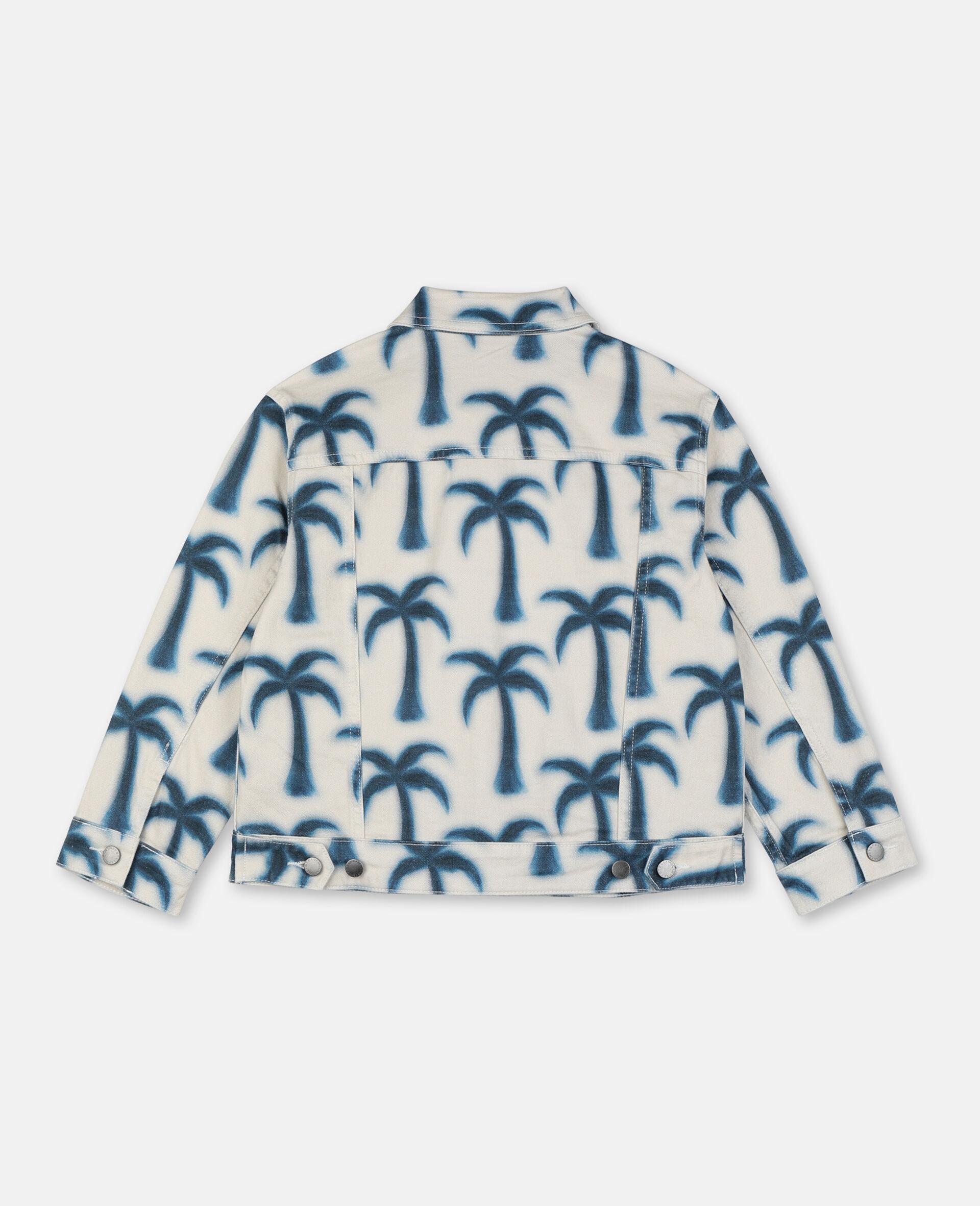 Palms Denim Jacket -Blue-large image number 3
