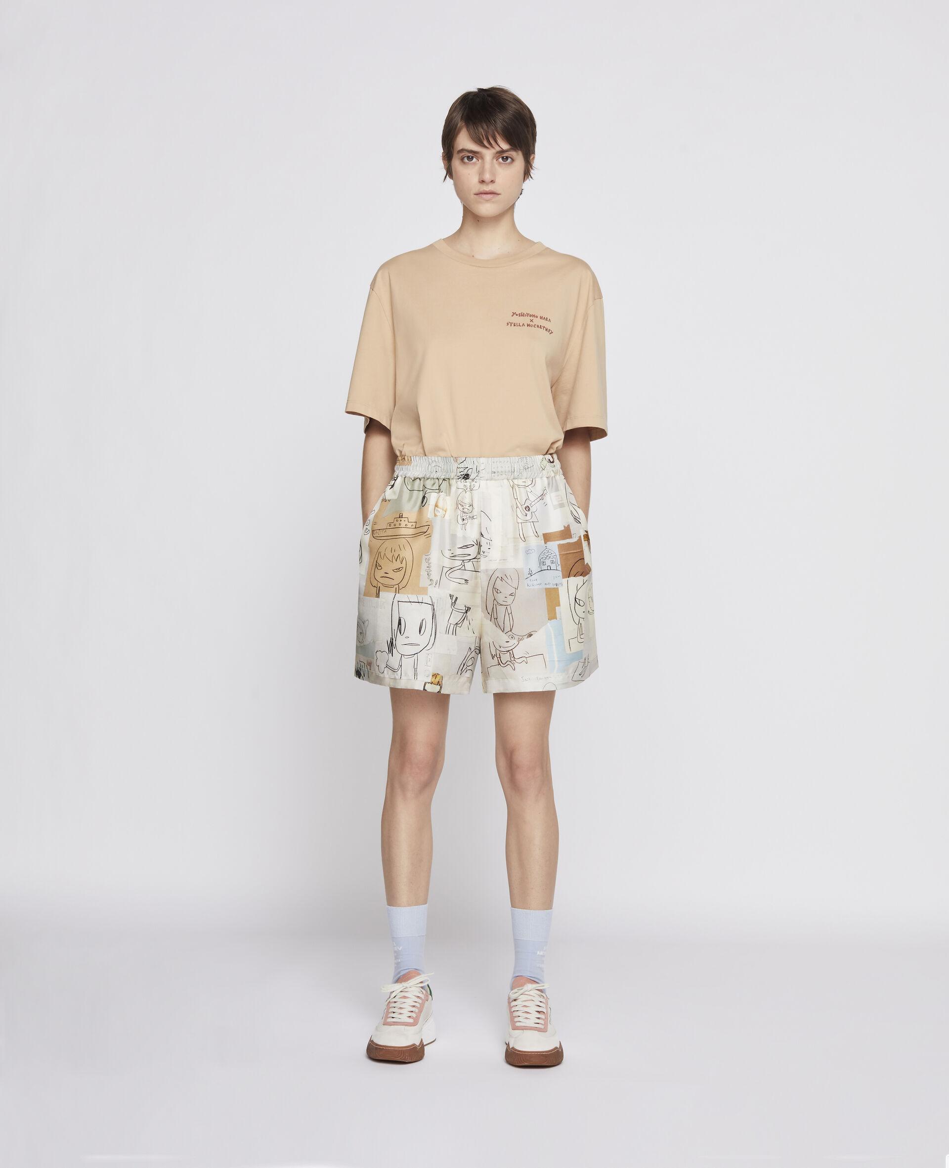 T-Shirt Nara aus Bio-Baumwolle -Brown-large image number 3