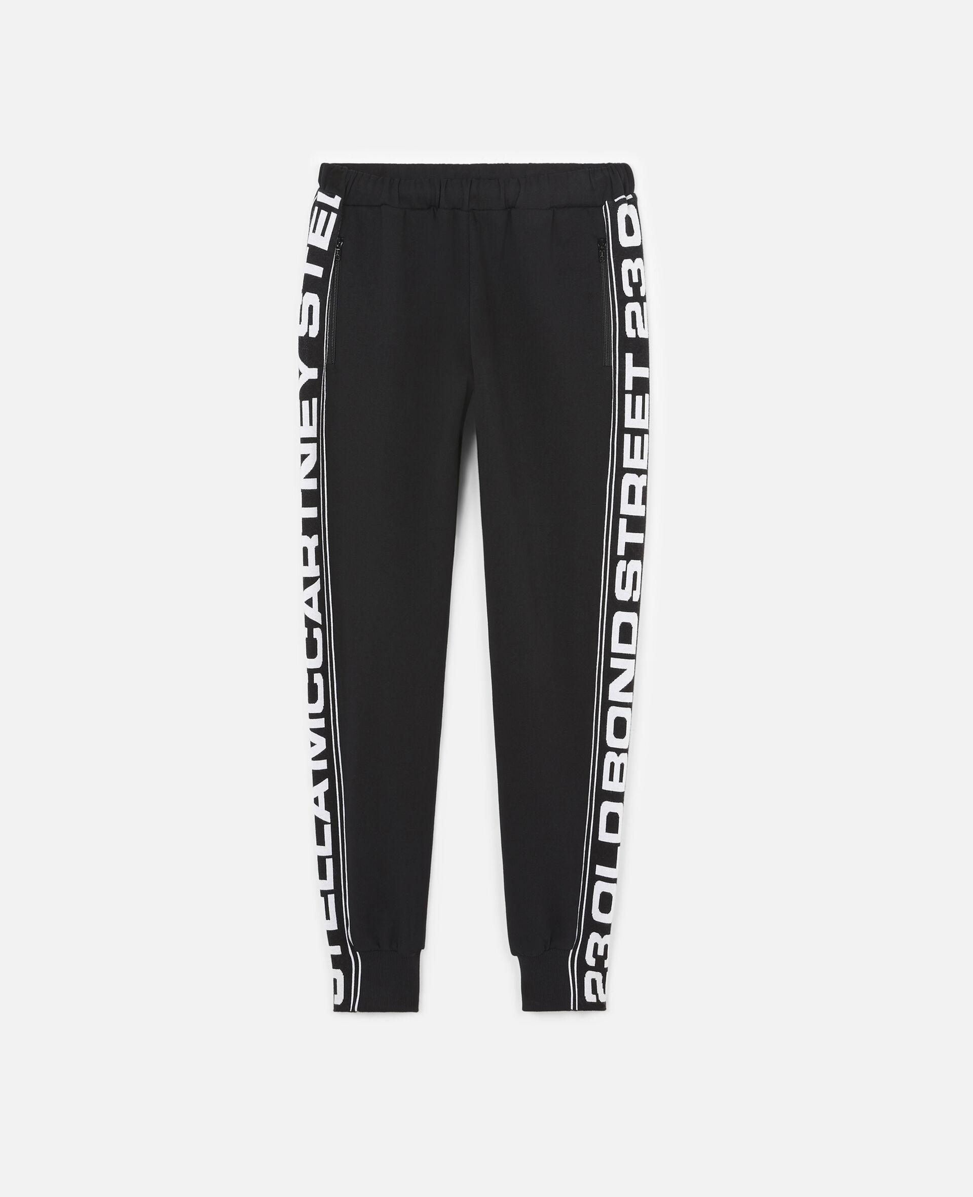 23 OBS 针织裤装-黑色-large image number 0