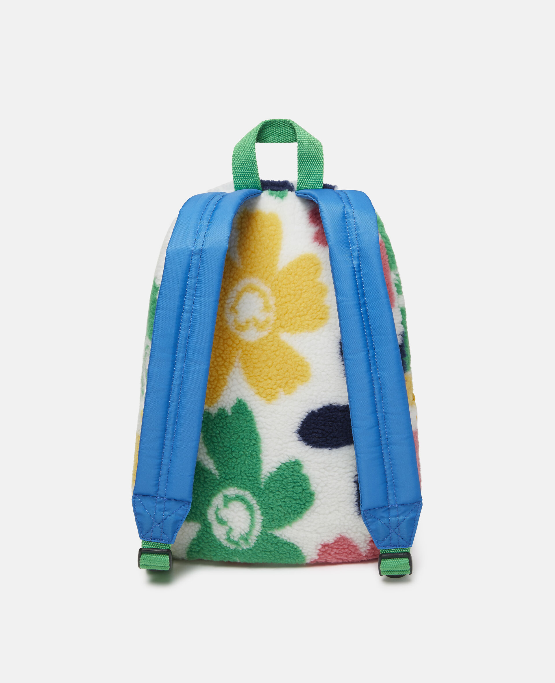 Happy Flowers Teddy Backpack-Multicolour-large image number 3