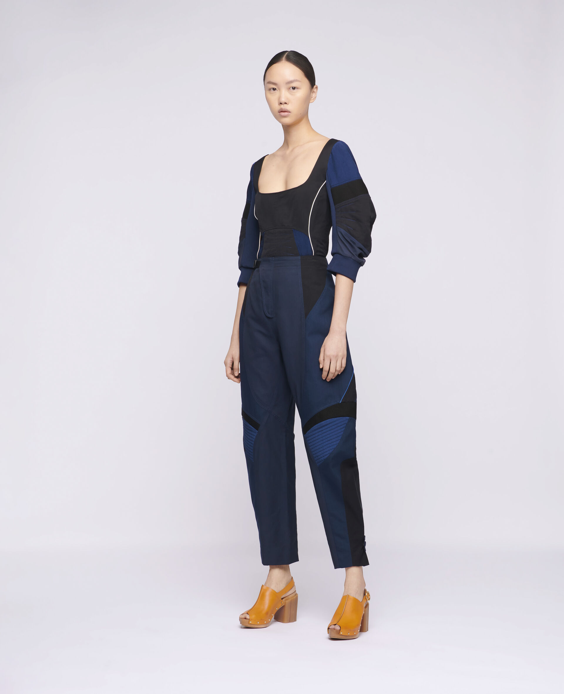 Brooke Trousers-Blue-large image number 1