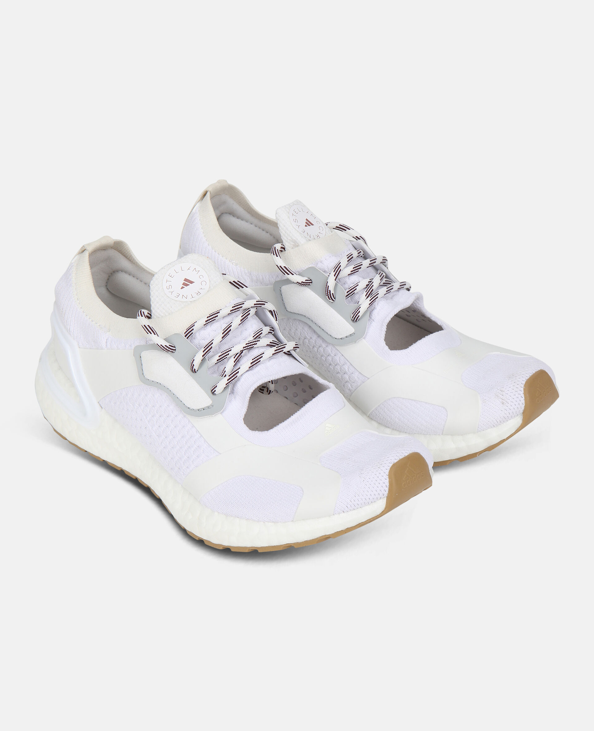 White Ultraboost Sneakers-White-large image number 1