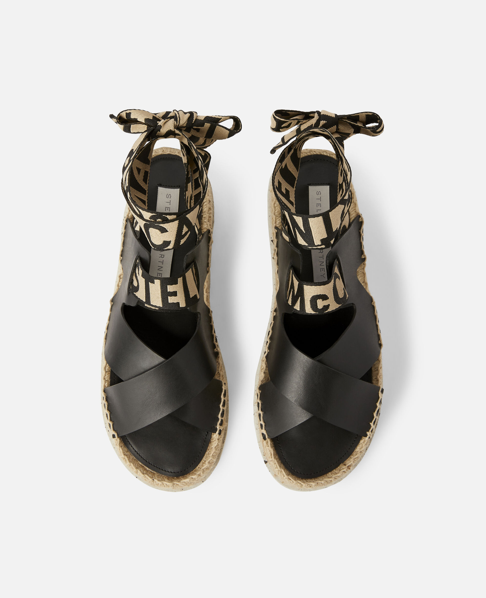 Gaia Alter Mat Sandals-Black-large image number 3
