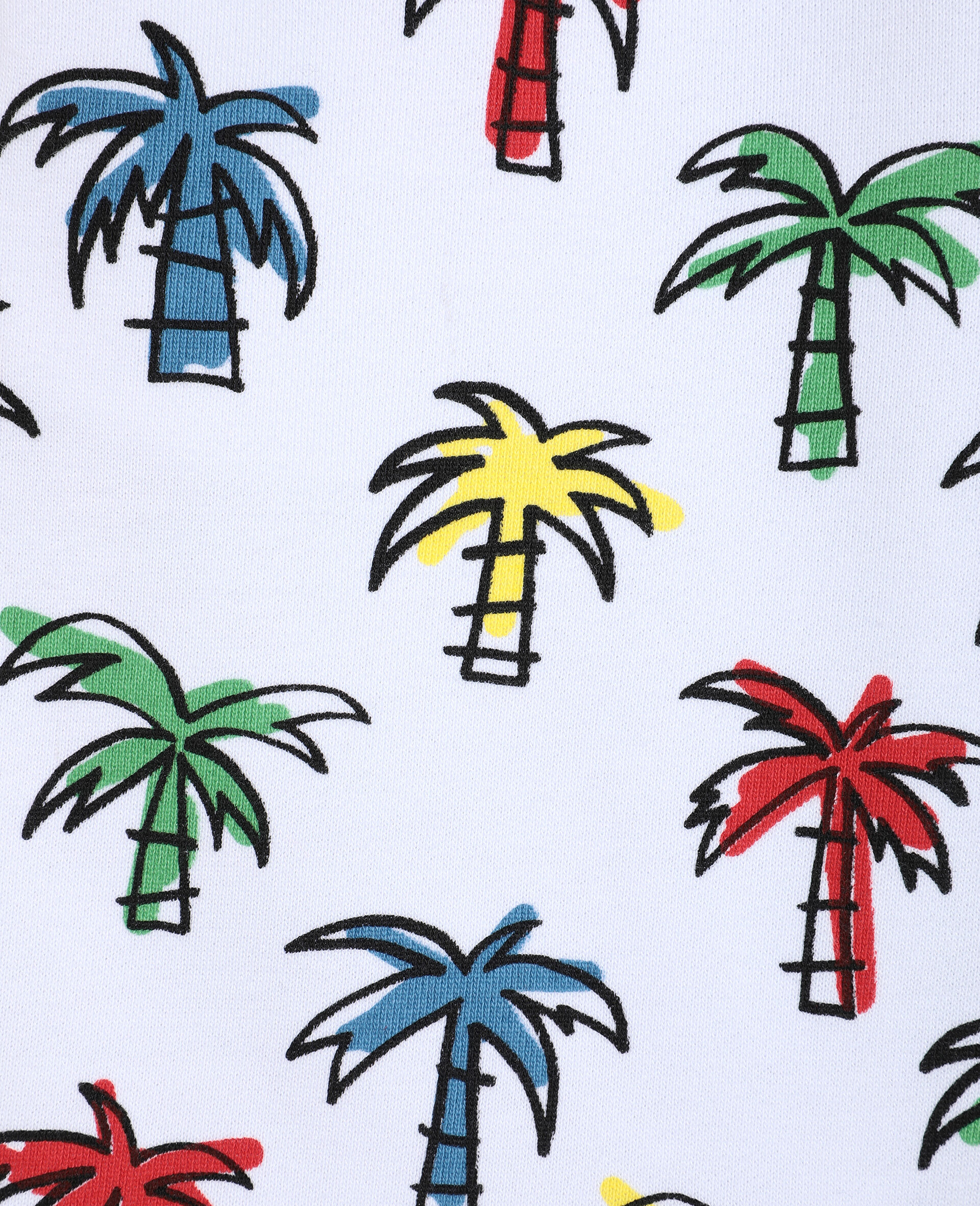 Doodly Palms Shorts -Multicolour-large image number 1