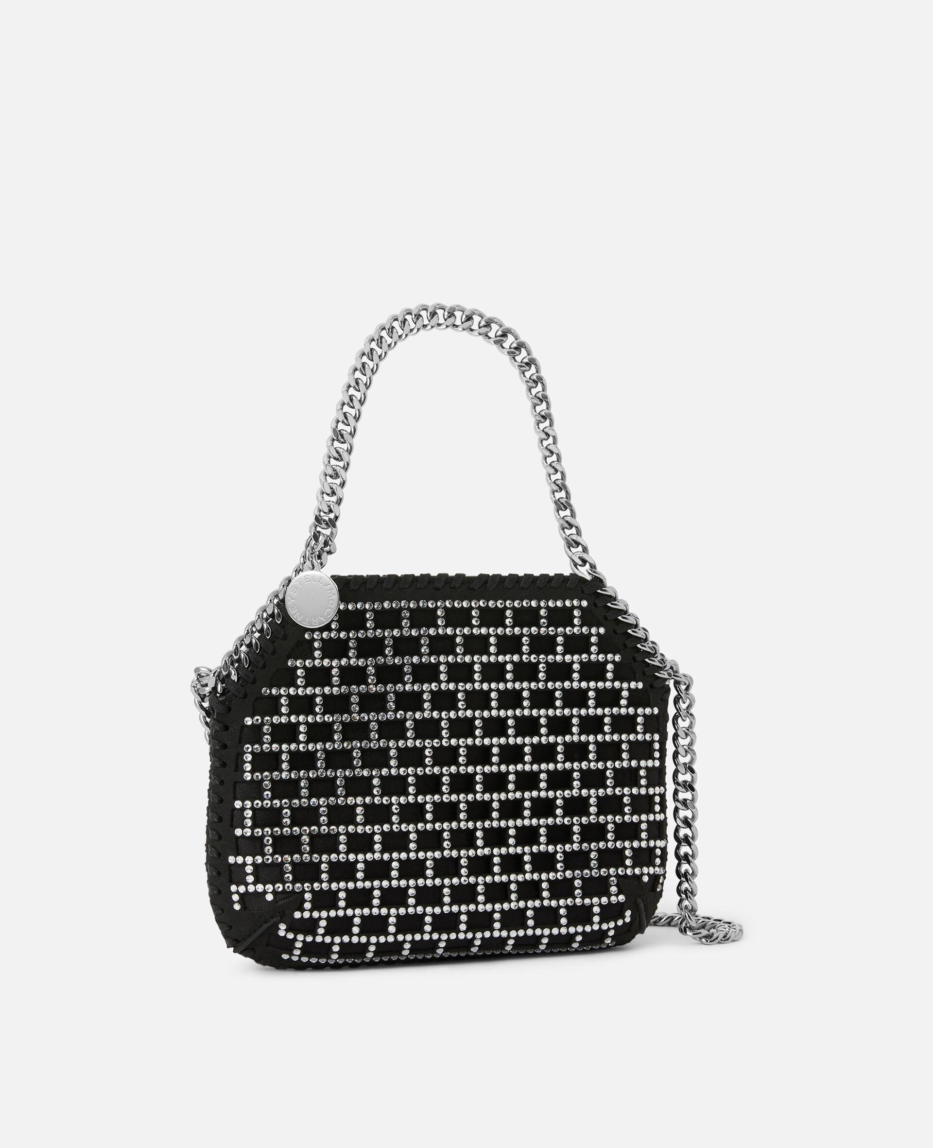 Mini Falabella Shoulder Bag -Black-large image number 1