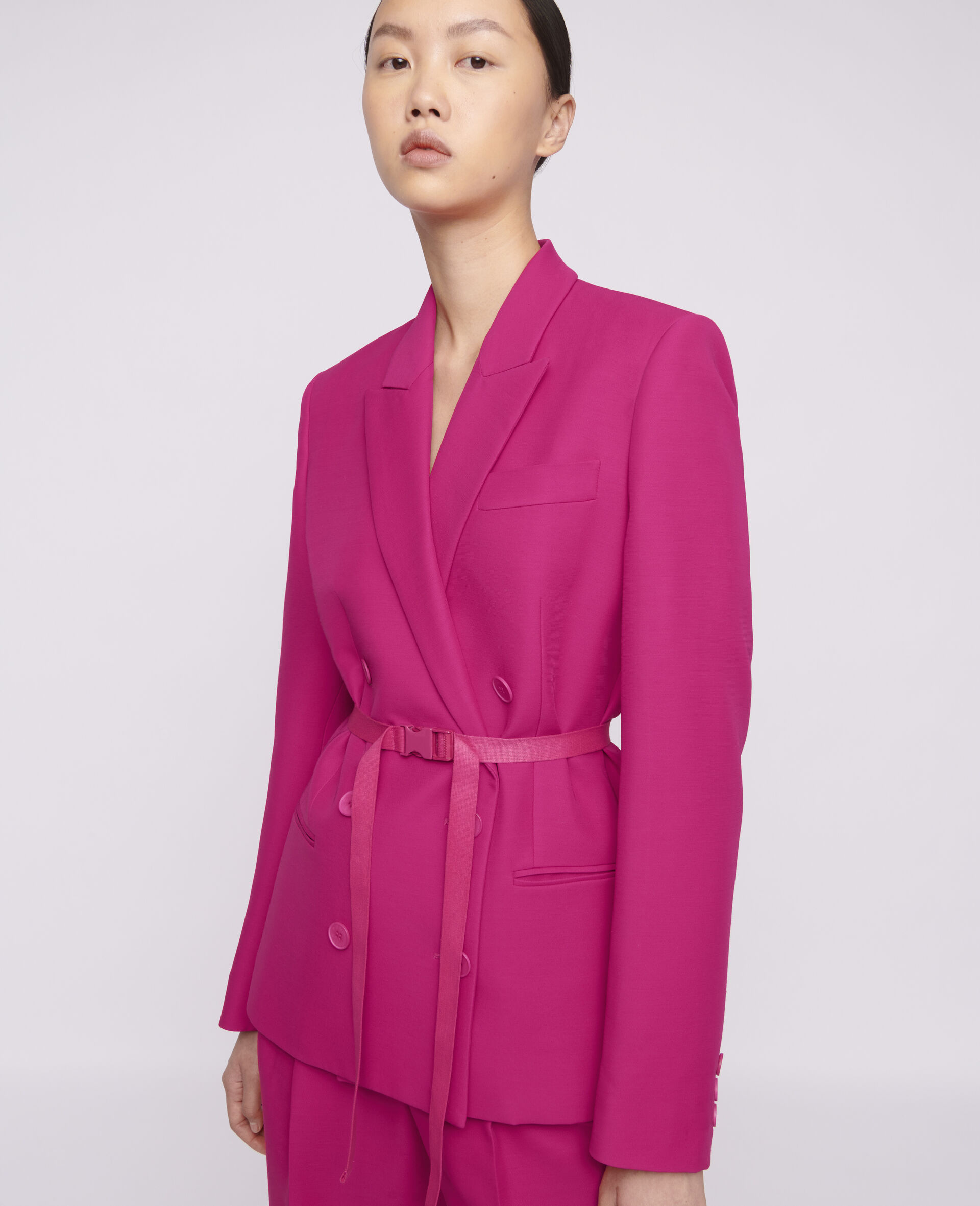 Lisa Tailored Jacket-Pink-large image number 3