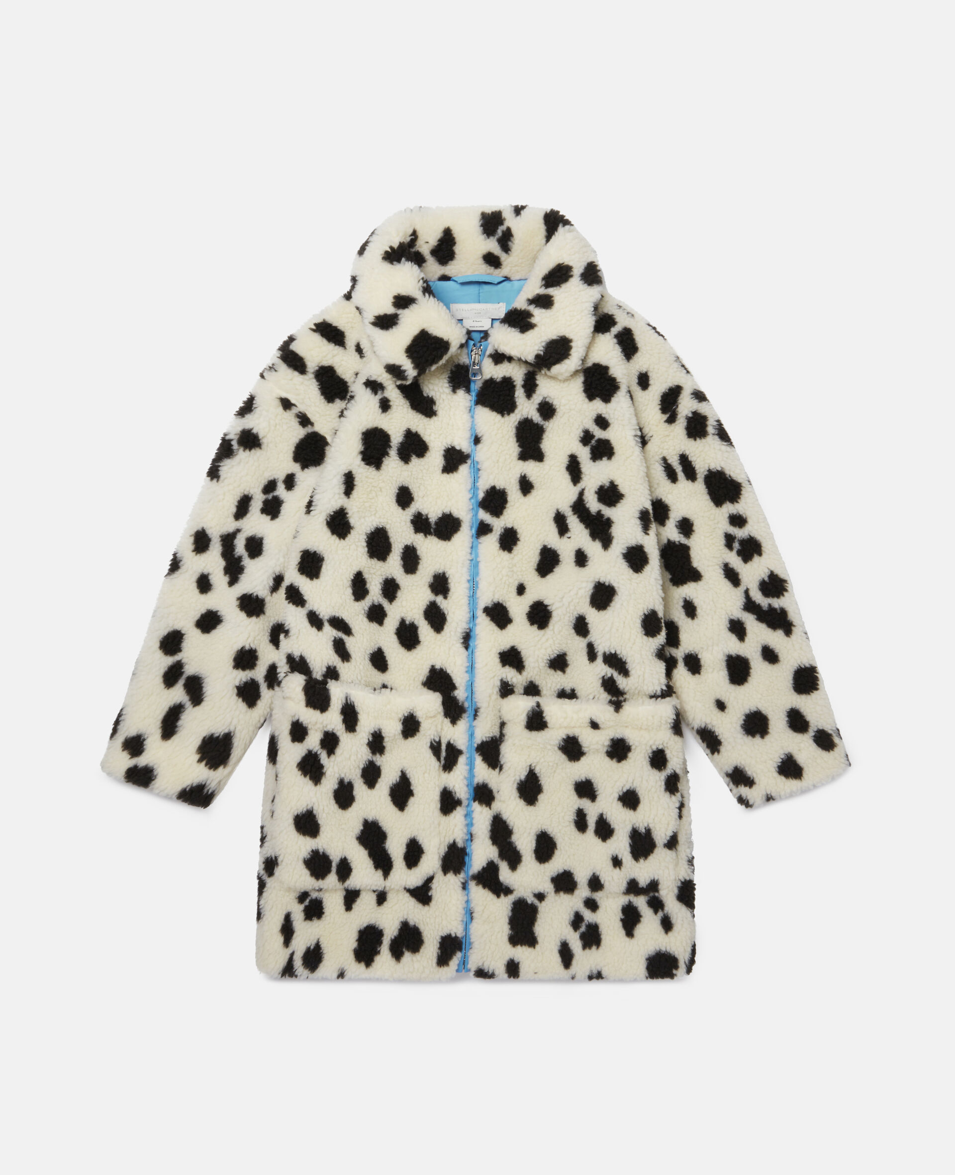 Dalmatian Teddy Coat-White-large image number 0
