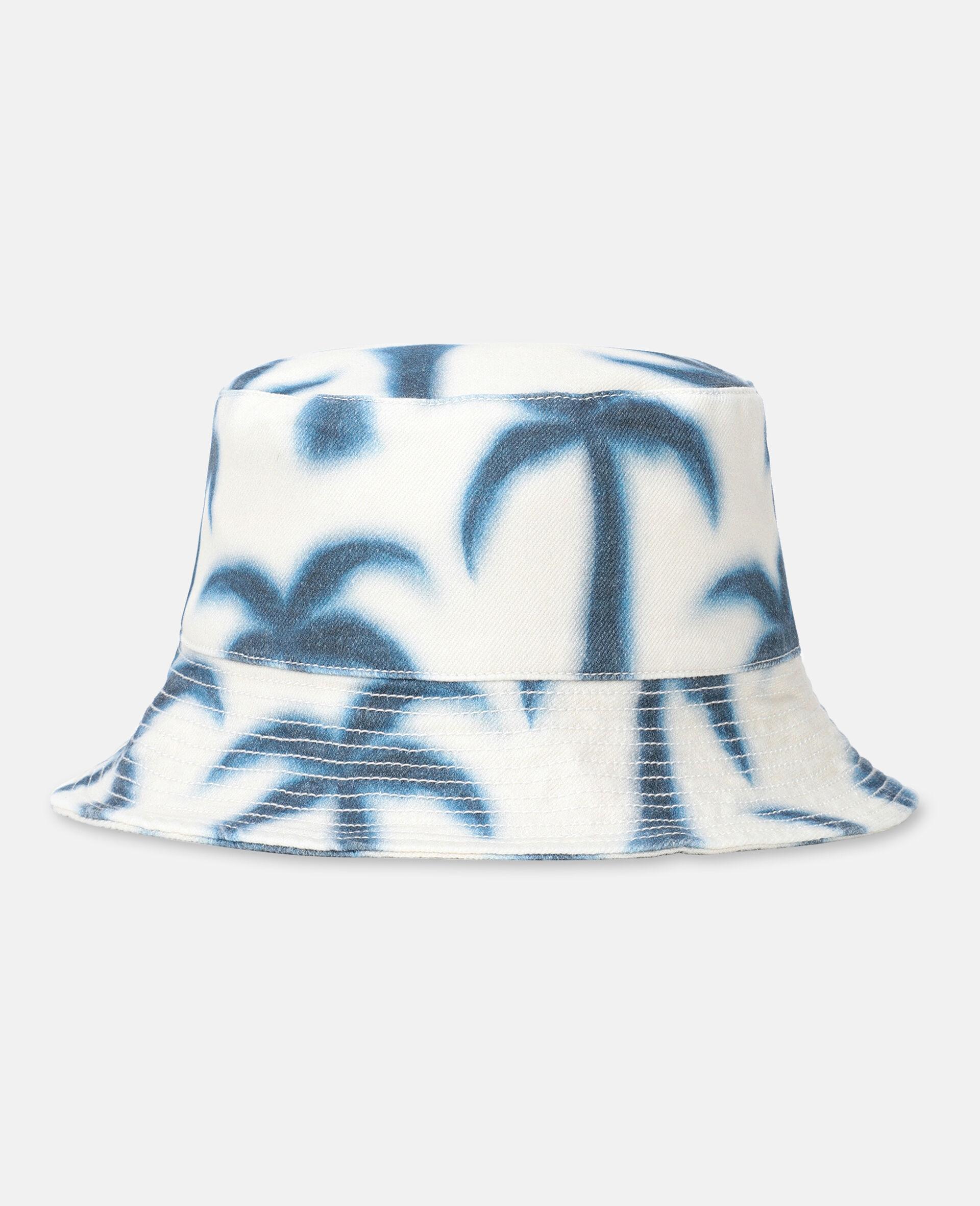 Palm Denim Hat -Blue-large image number 0