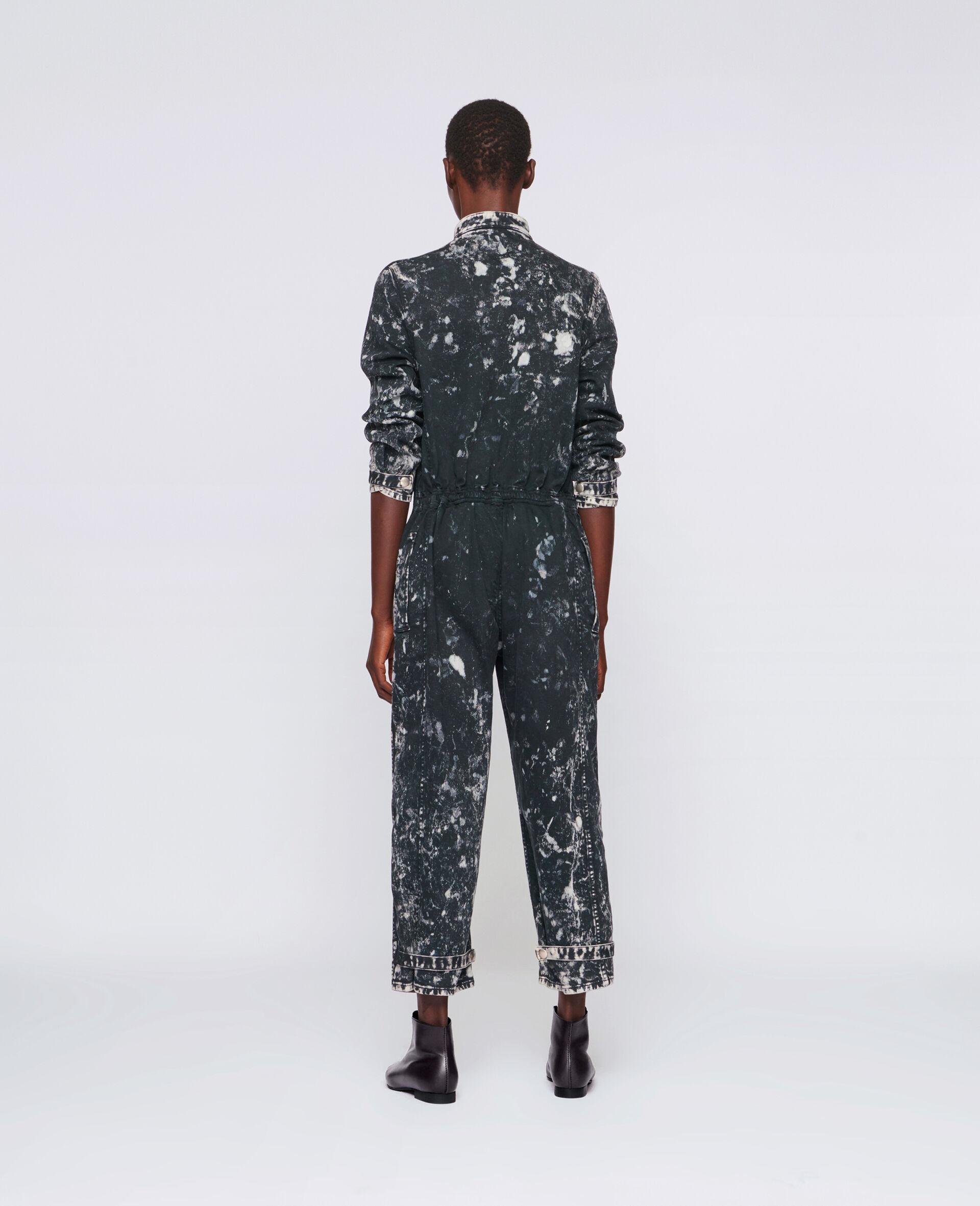 ホリー デニム ジャンプスーツ-ブラック-large image number 2