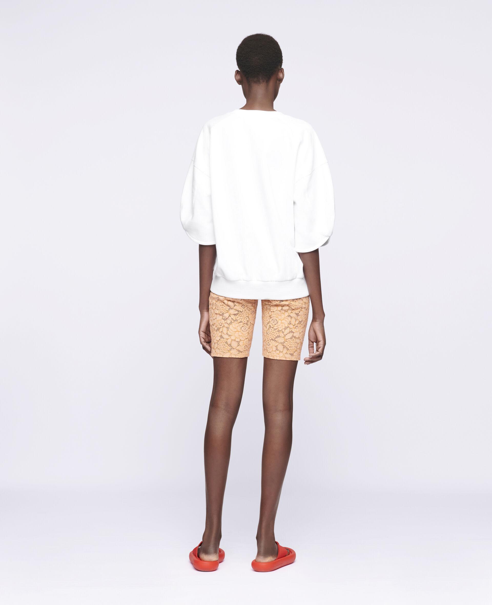 Isla Lace Shorts-Orange-large image number 2