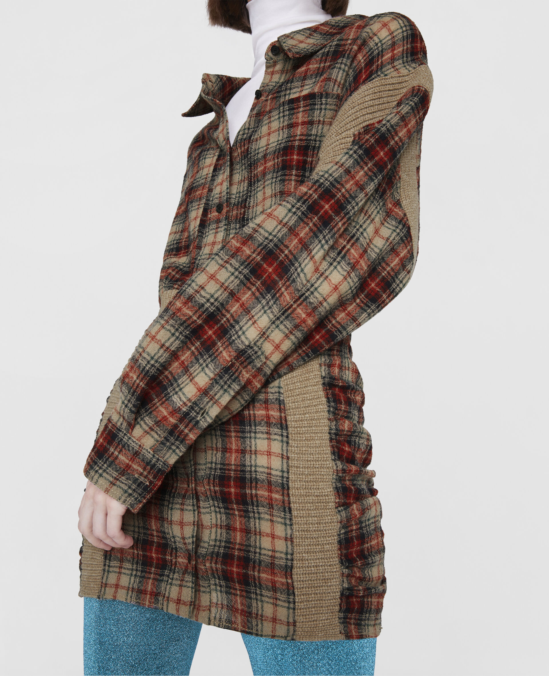 Wren Mini Dress-Multicolour-large image number 3