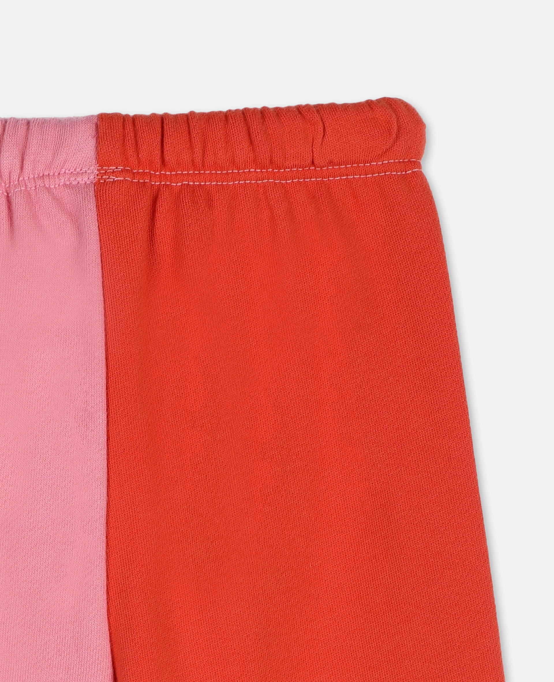 Hearts Cotton Joggers -Pink-large image number 2