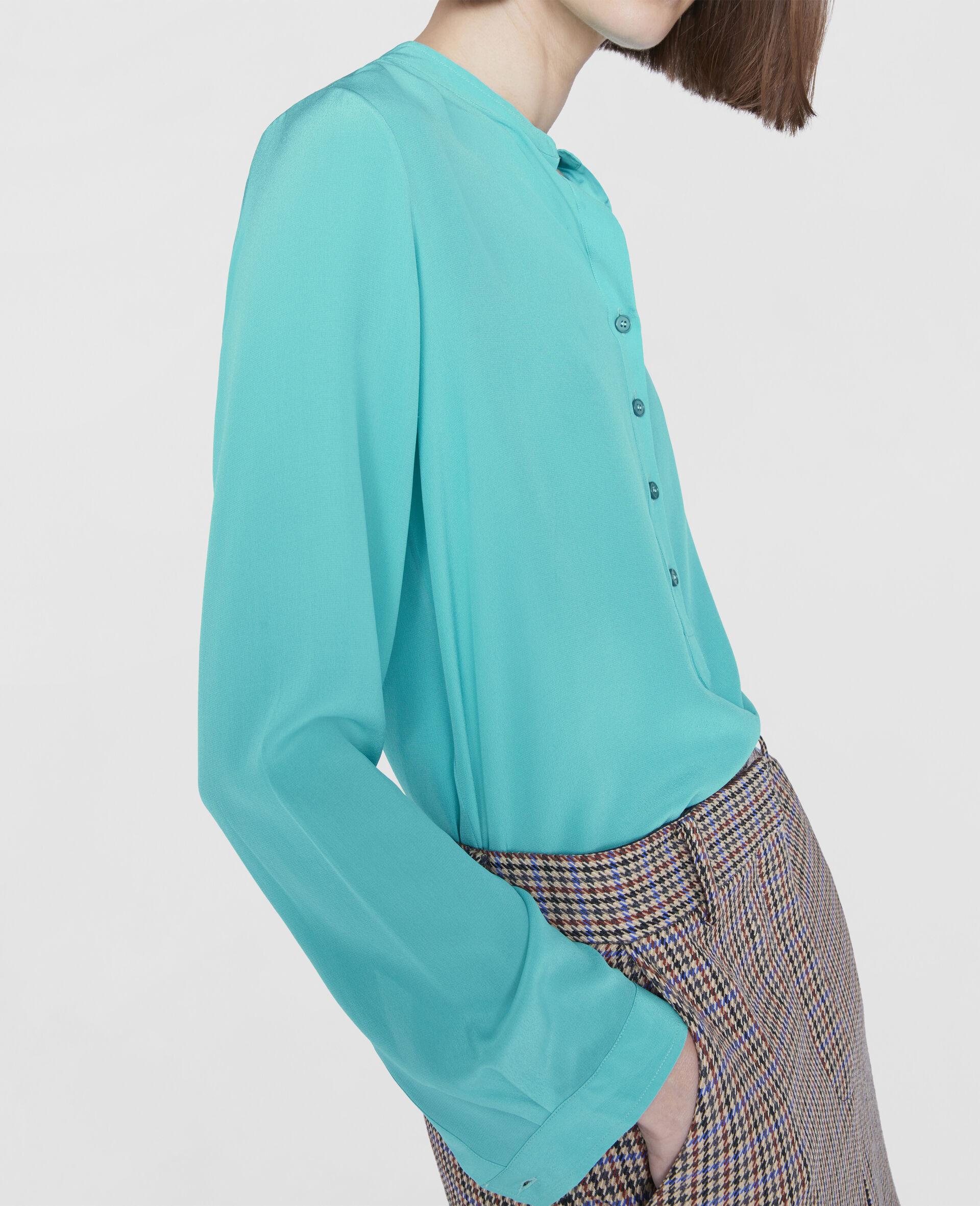 Eva Silk Shirt-Pink-large image number 3