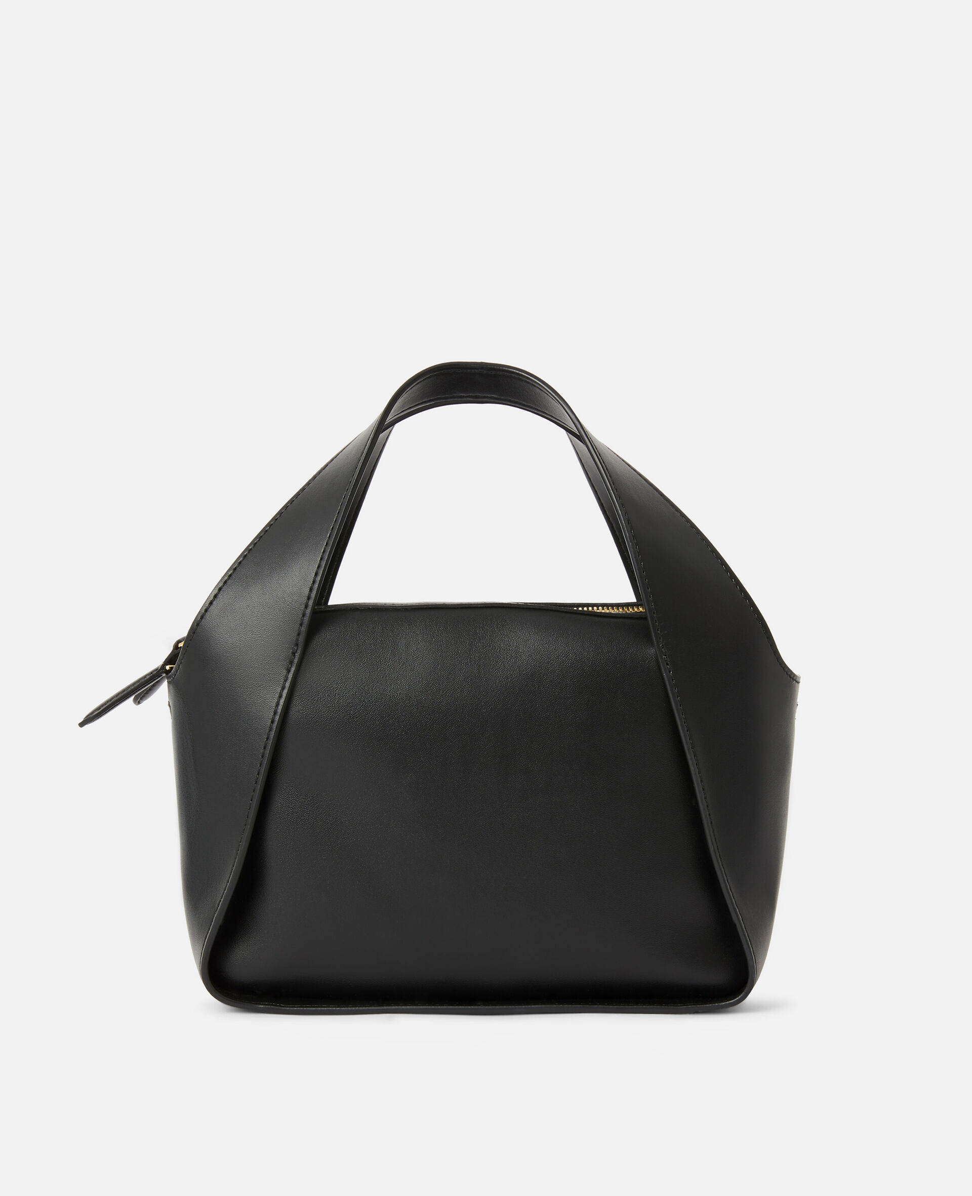 Tote Bag Stella Logo con Tracolla -Nero-large image number 2
