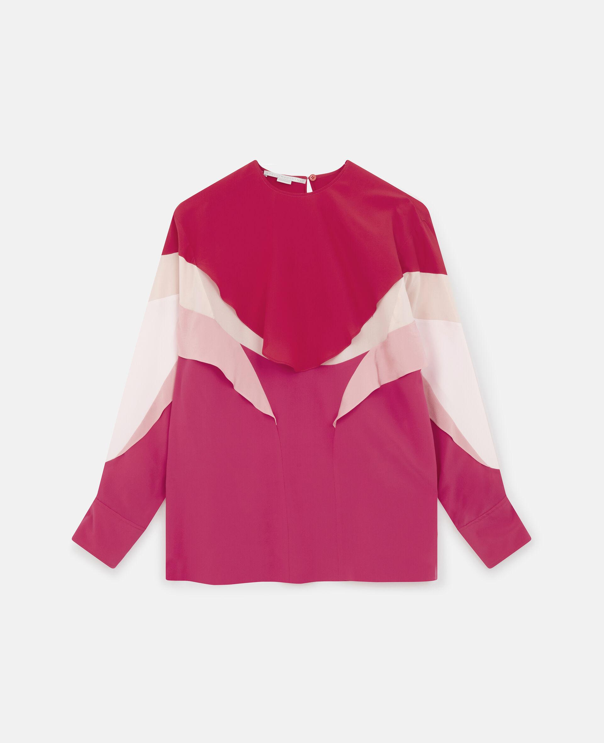 Meredith Silk Top-Pink-large image number 0