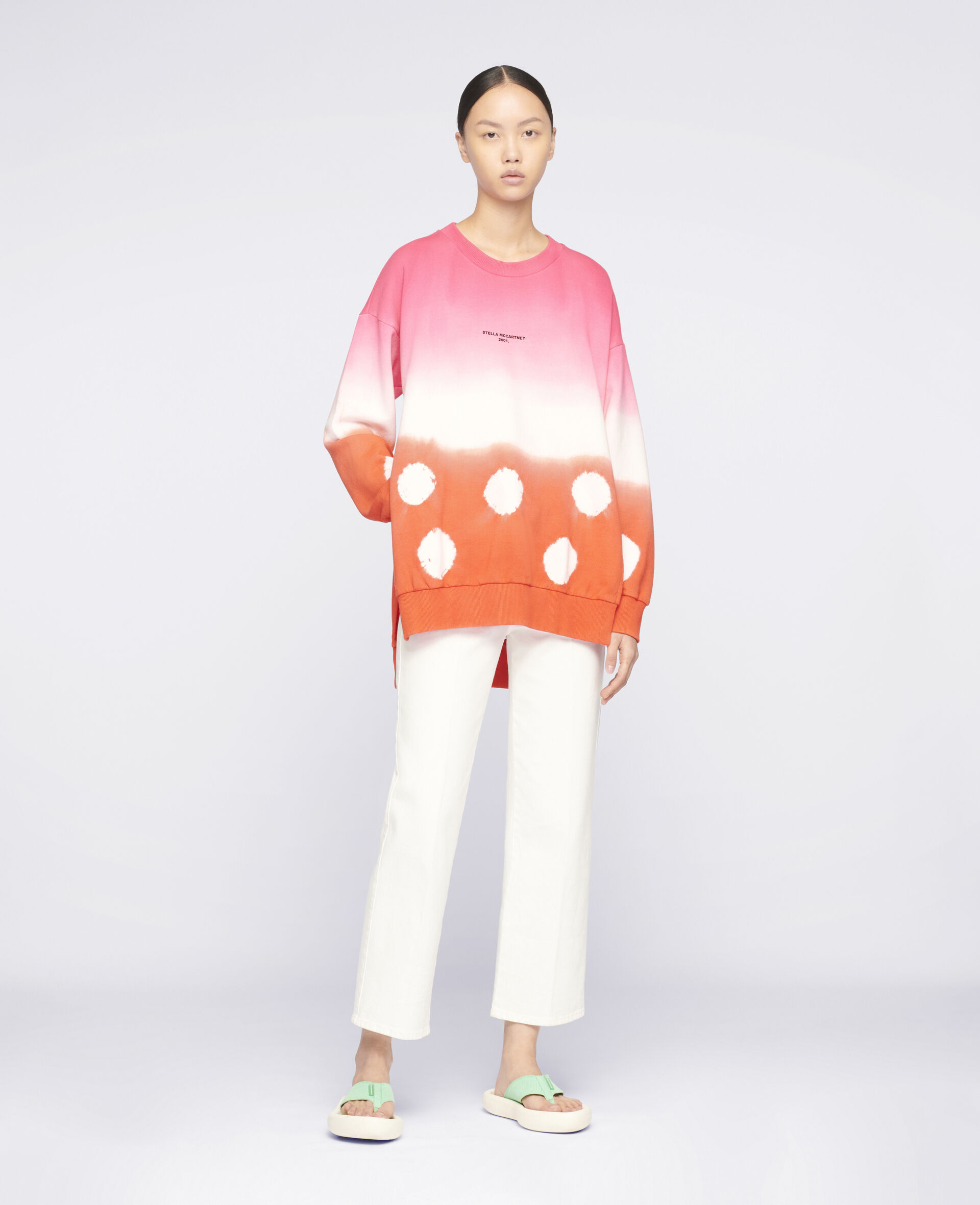 """Stella McCartney 2001."" Sweatshirt im Batik-Style-Bunt-large image number 1"