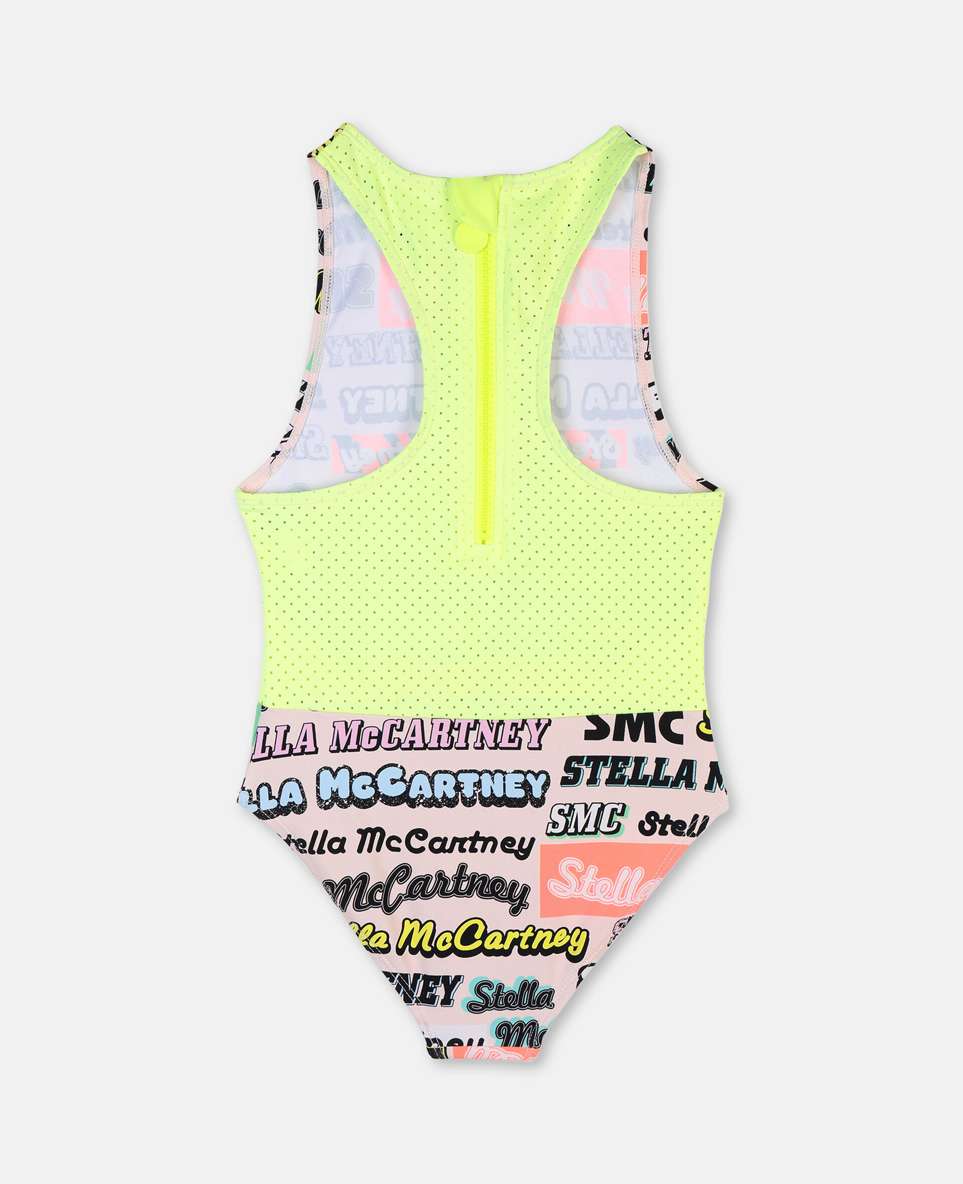 Logo Sport Swimsuit -Pink-large image number 3