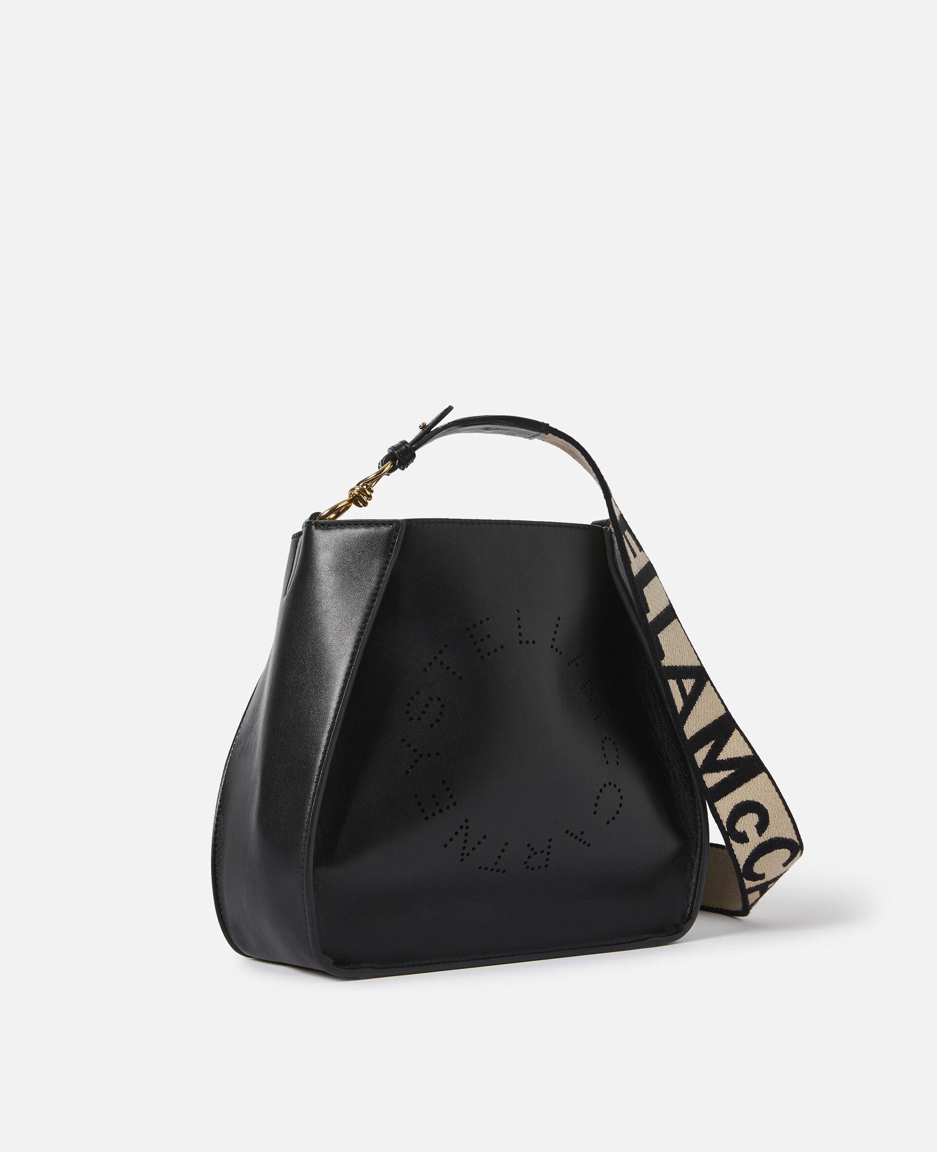 Micro Stella Logo Shoulder Bag-Black-large image number 1