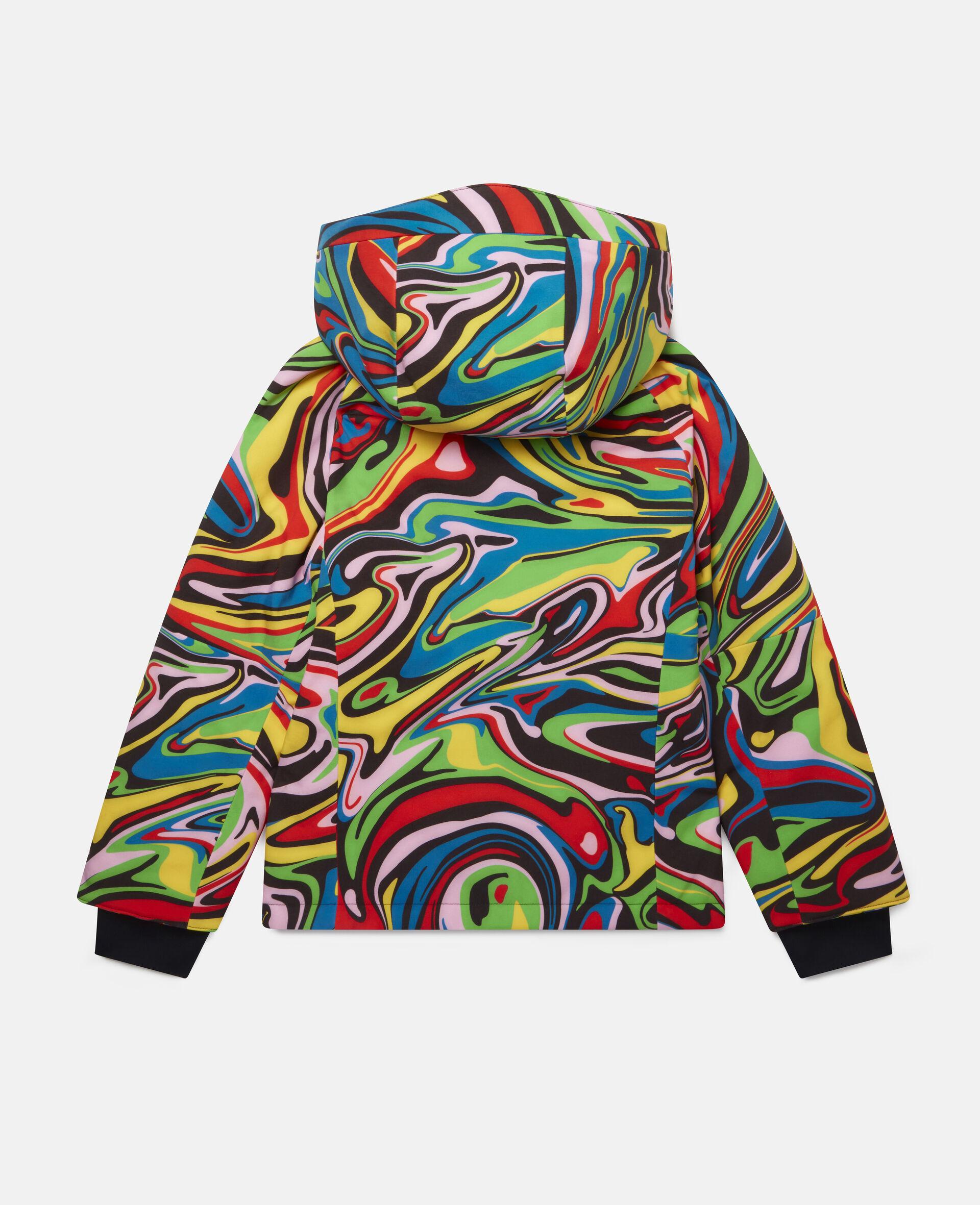 Marble Ski Jacket-Multicolour-large image number 3